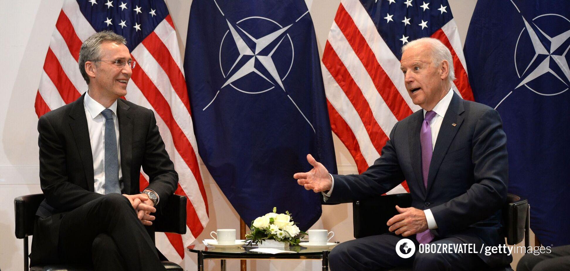 Байден и Столтенберг поучаствуют в саммите НАТО, где обсудят Украину