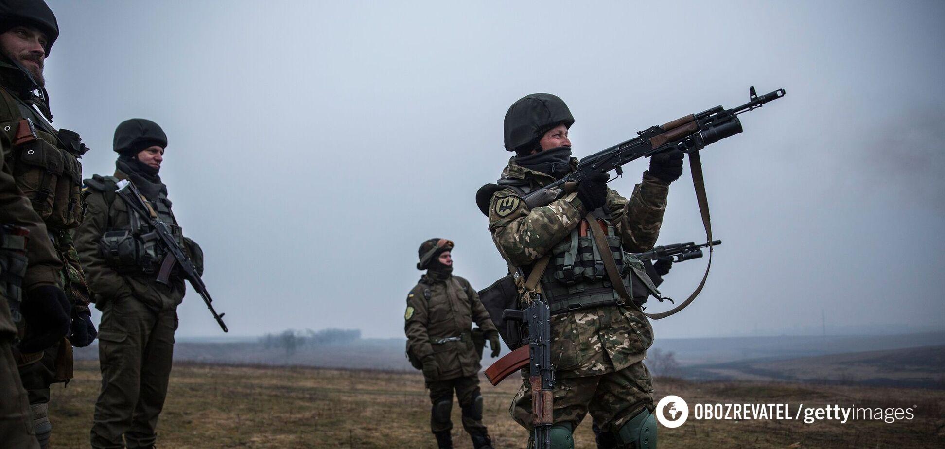 ЗСУ знищили з повітря позицію терористів на Донбасі