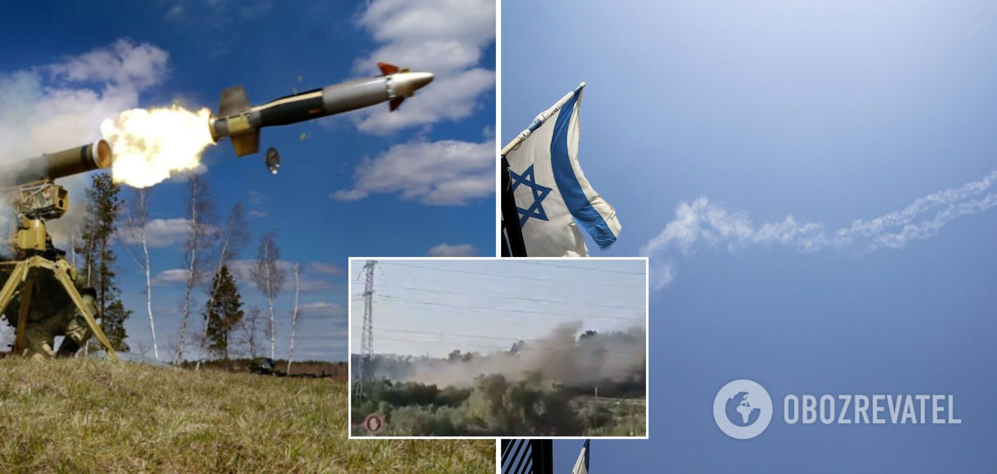 Из Газы по Израилю нанесли ракетные удары: в ответ уничтожены боевики. Фото и видео