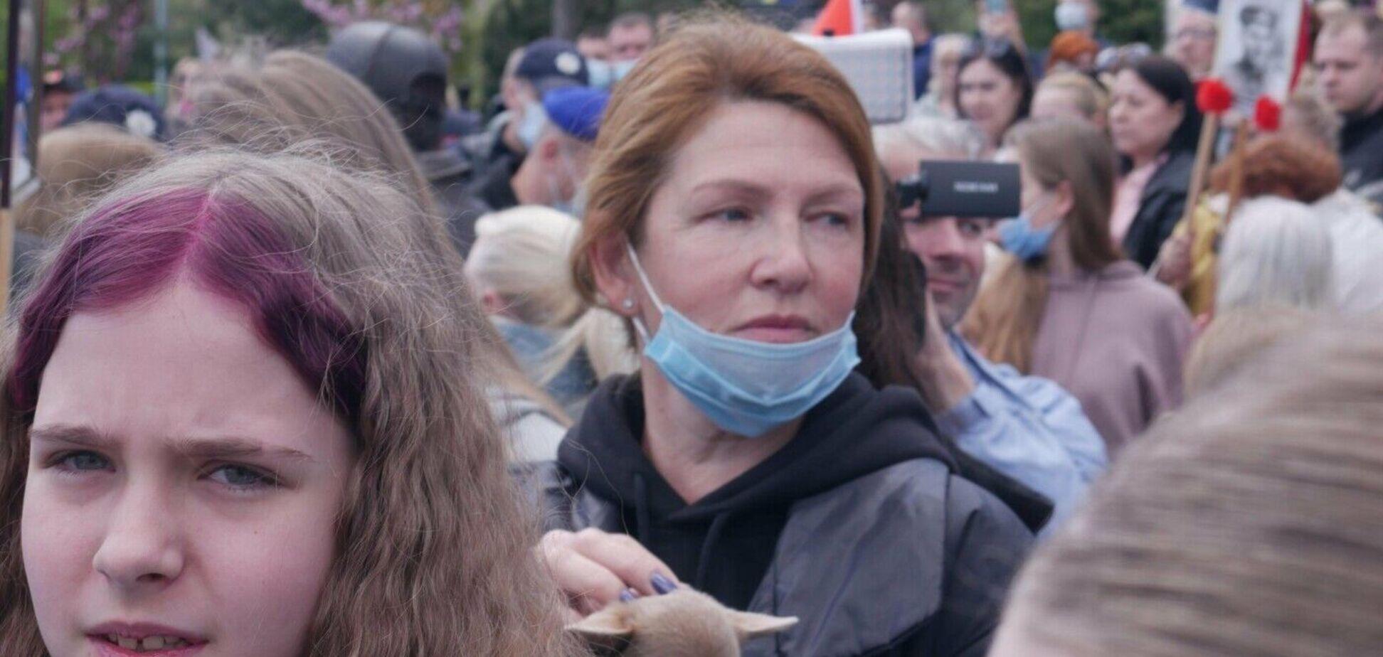 На 9 травня в люди натовпі кричали 'геть з Одеси'