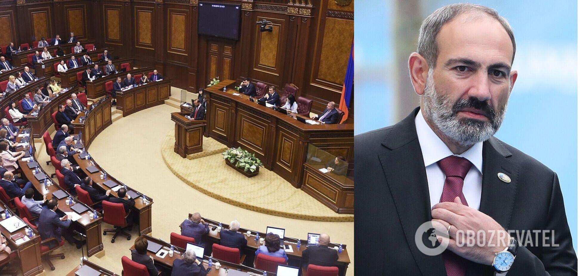У Вірменії оголосили перевибори через провал з призначенням Пашиняна