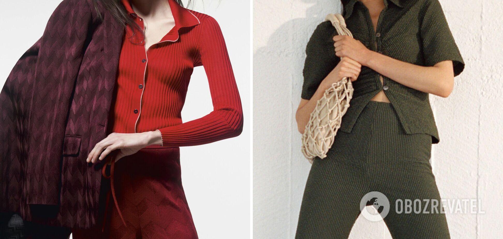 Трикотажна сорочка стала модним трендом весни 2021