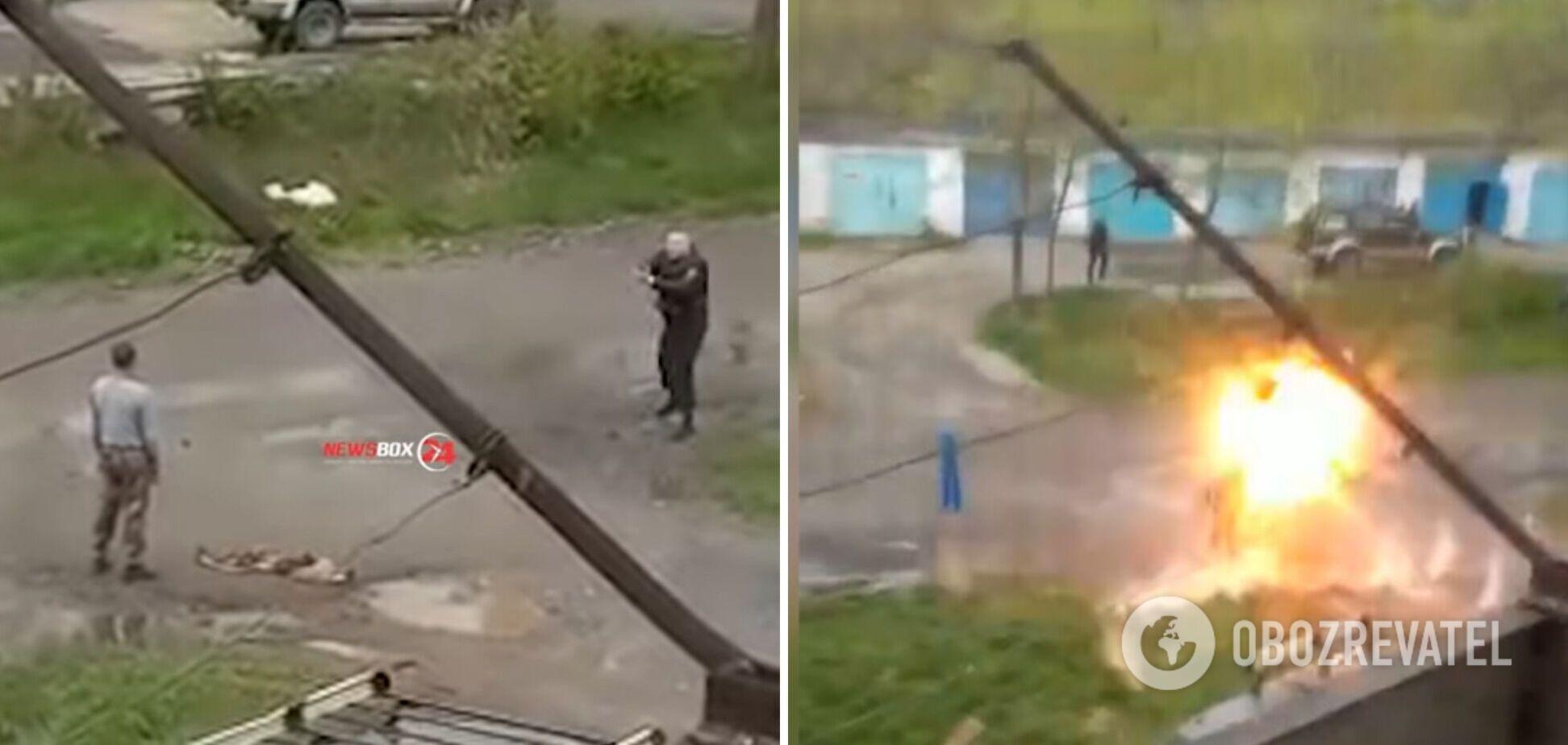 Инцидент произошел в городе Спасск-Дальний Приморского края