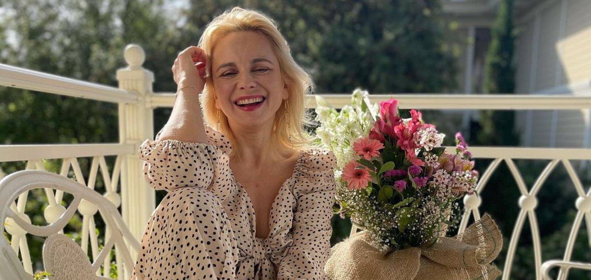Лілія Ребрик на побаченні з чоловіком продемонструвала розтяжку