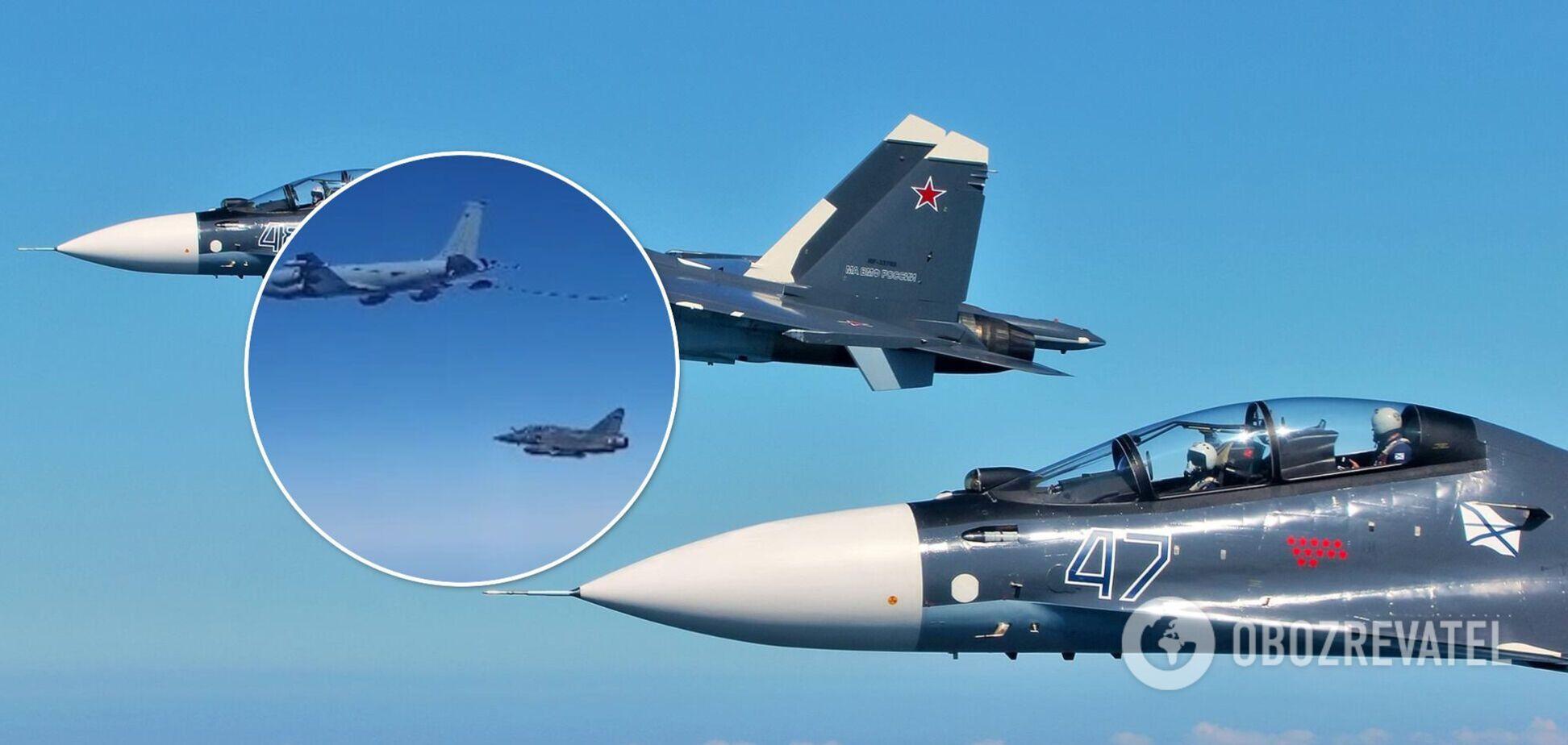 У Росії заявили про перехоплення іноземних військових літаків. Відео