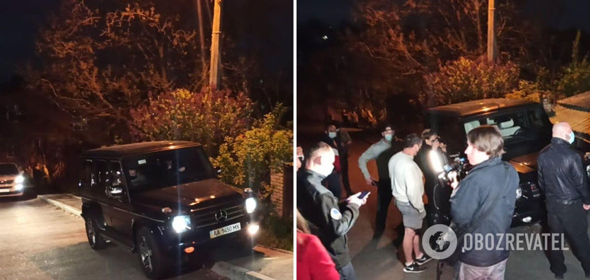 У Києві авто Медведчука намагалися евакуювати за неправильне паркування. Фото і відео