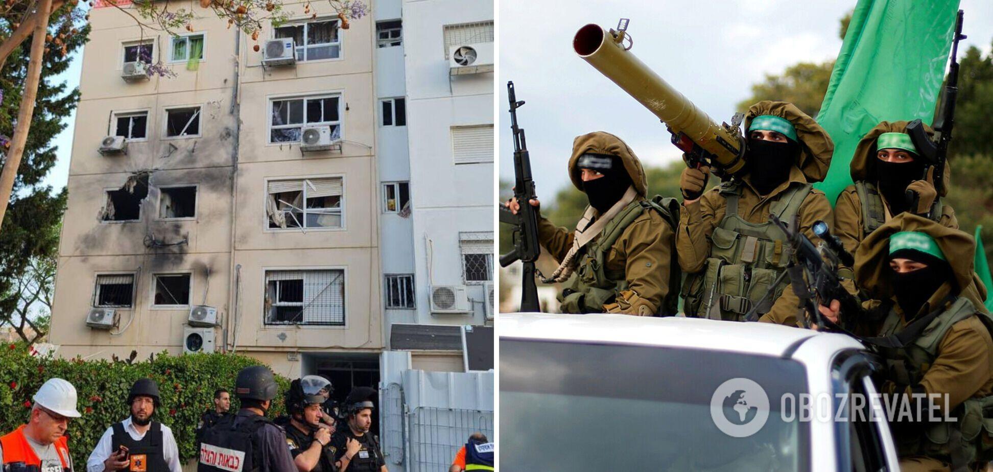 ХАМАС обстріляв місто в Ізраїлі, є поранені. Фото та відео