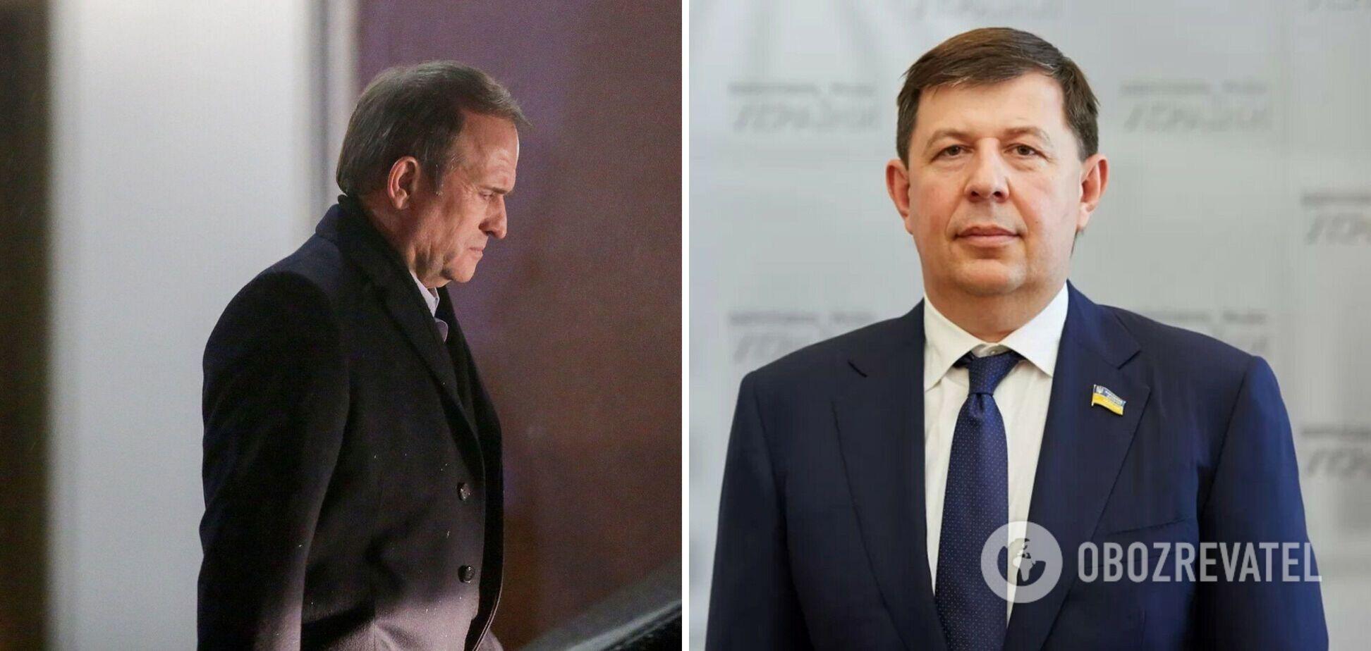 В СБУ розповіли про місцеперебування Медведчука і Козака: підозри їм особисто не вручили
