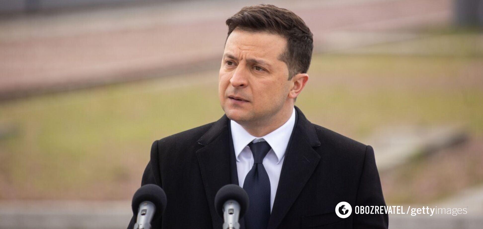 Зеленский заявил, что была вероятность полномасштабного вторжения России в Украину