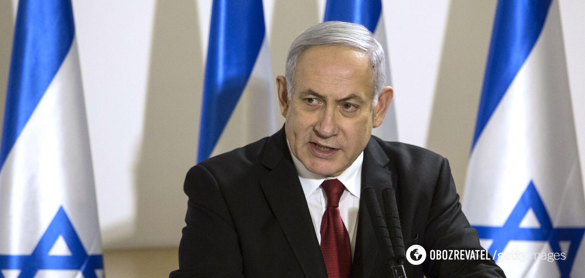 Нетаньяху выступил с обращением к израильтянам