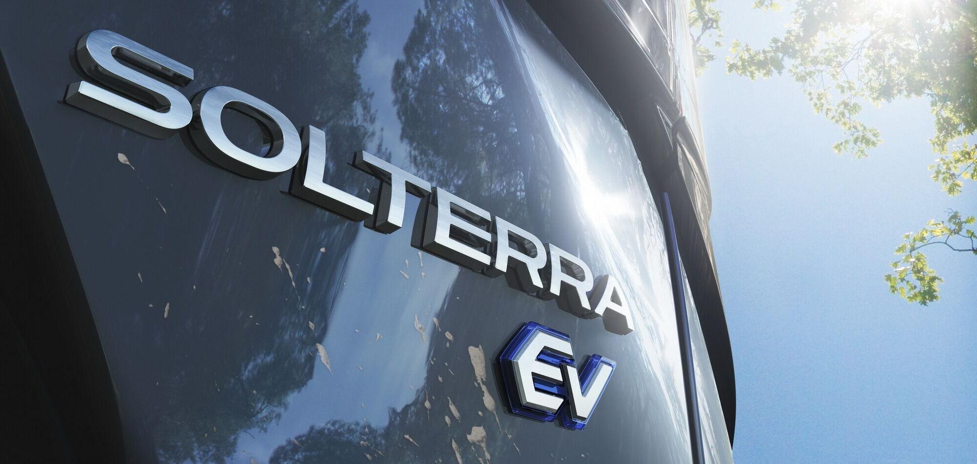 Subaru дала назву своєму електричному кросоверу