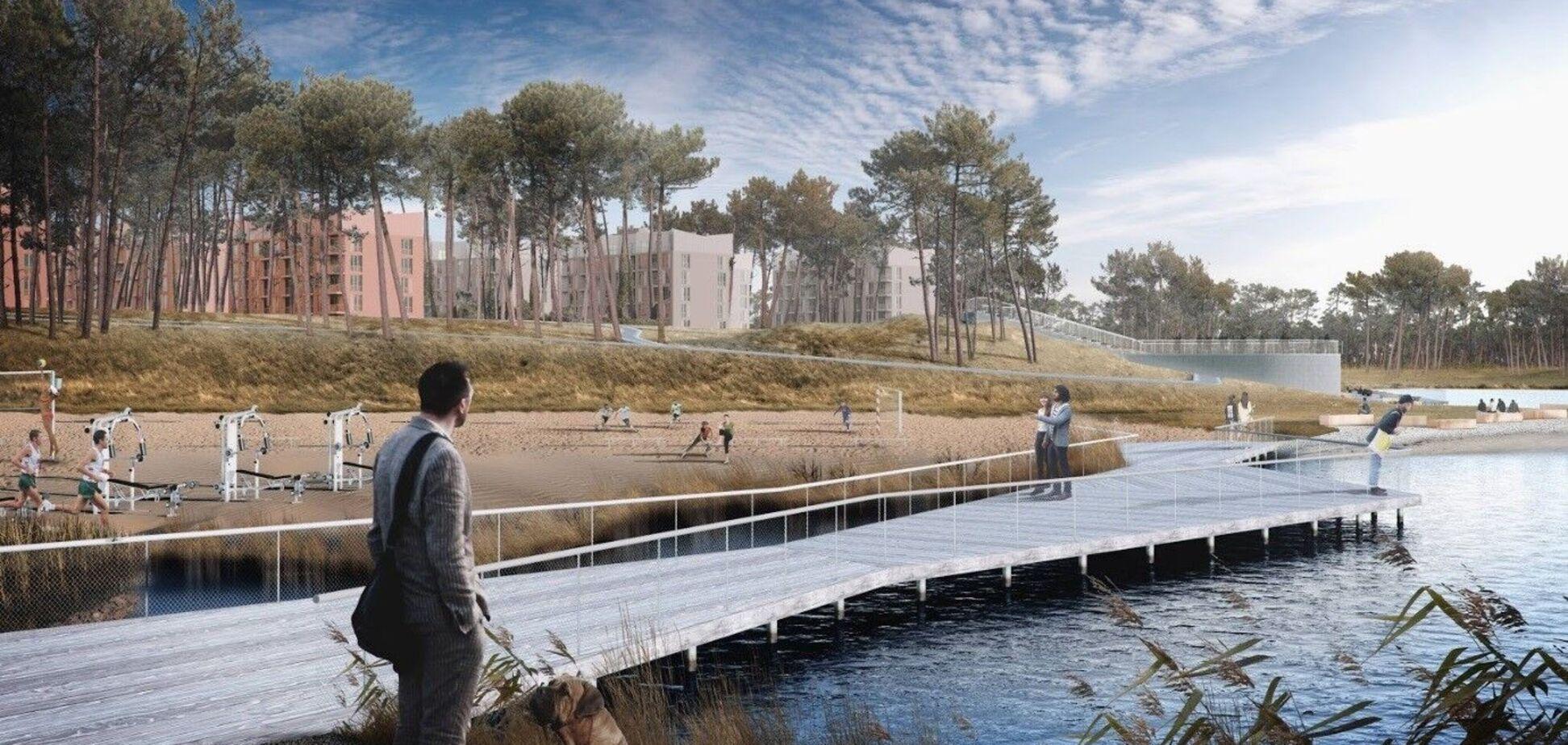 Об'єднати місто та природу: 4 принципи сучасного благоустрою на прикладі О2 Residence