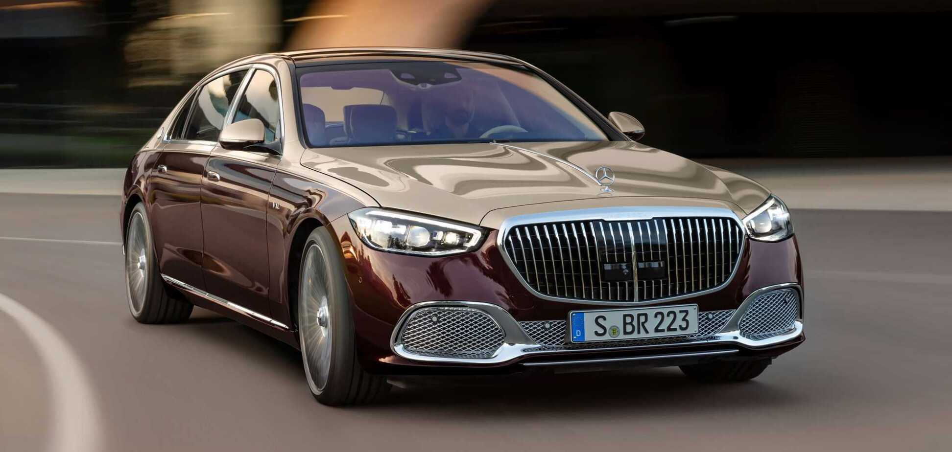 Mercedes-Maybach S680 S-class