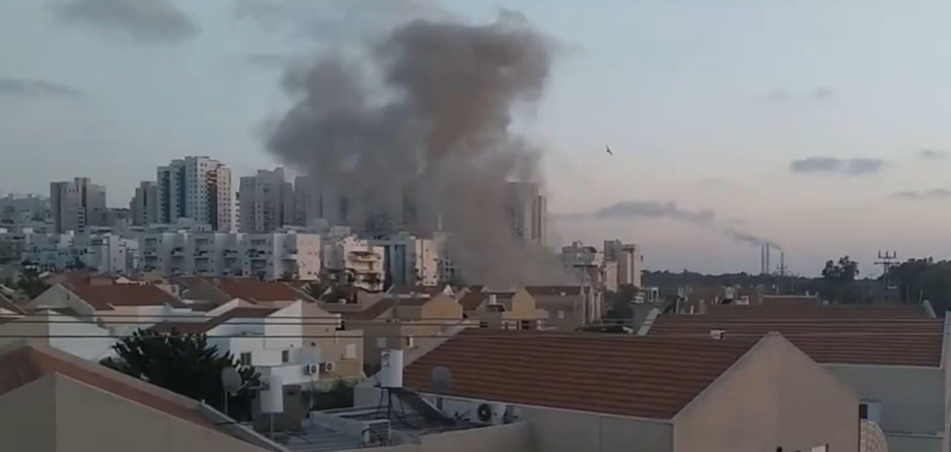 ХАМАС обстріляв Ашкелон в Ізраїлі