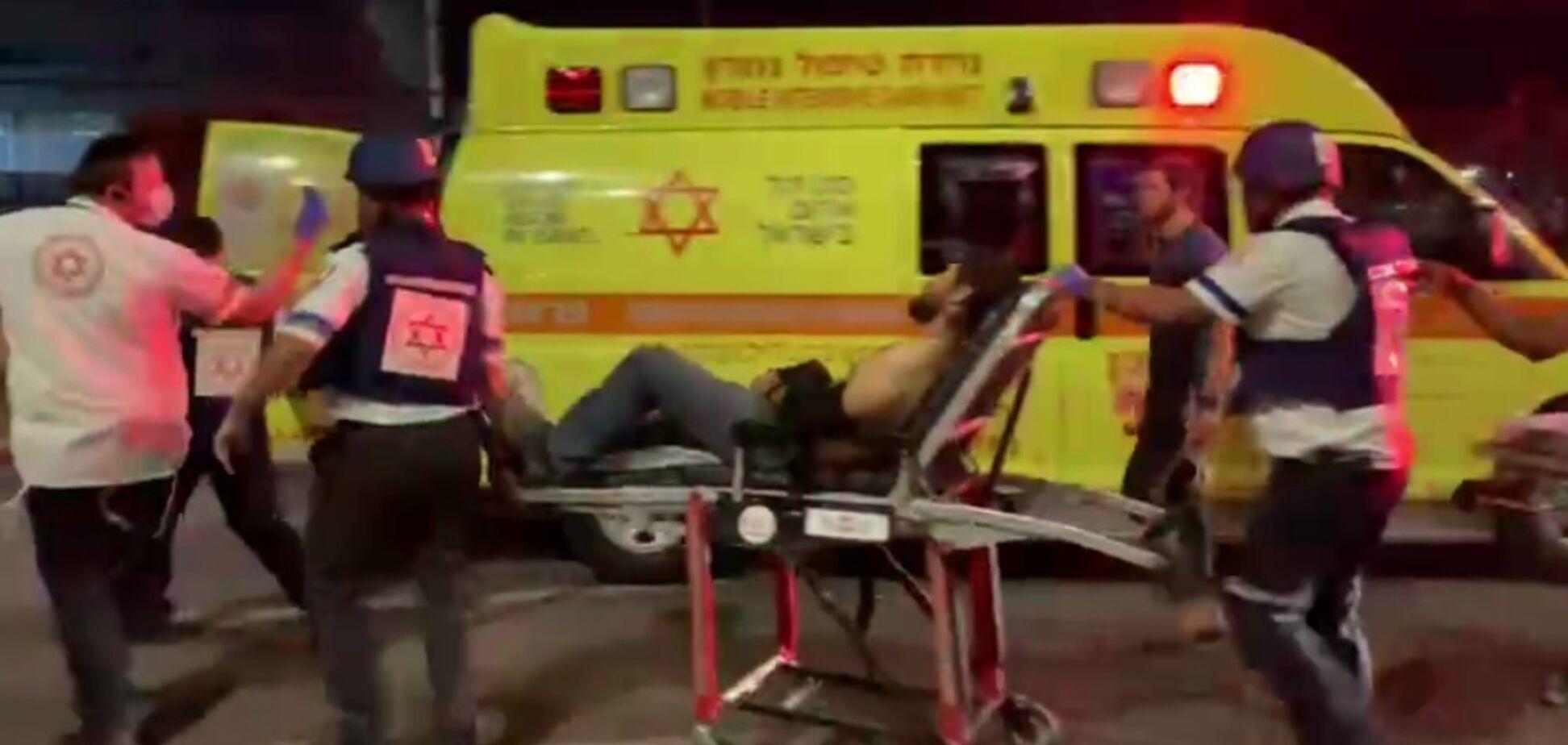 В ізраїльському Лоді поранено чоловіка