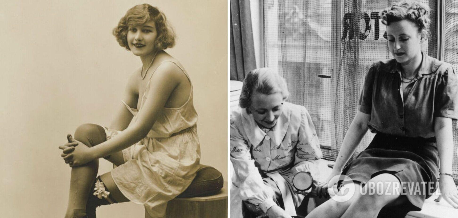 Як носили панчохи за часів СРСР: опубліковано фото