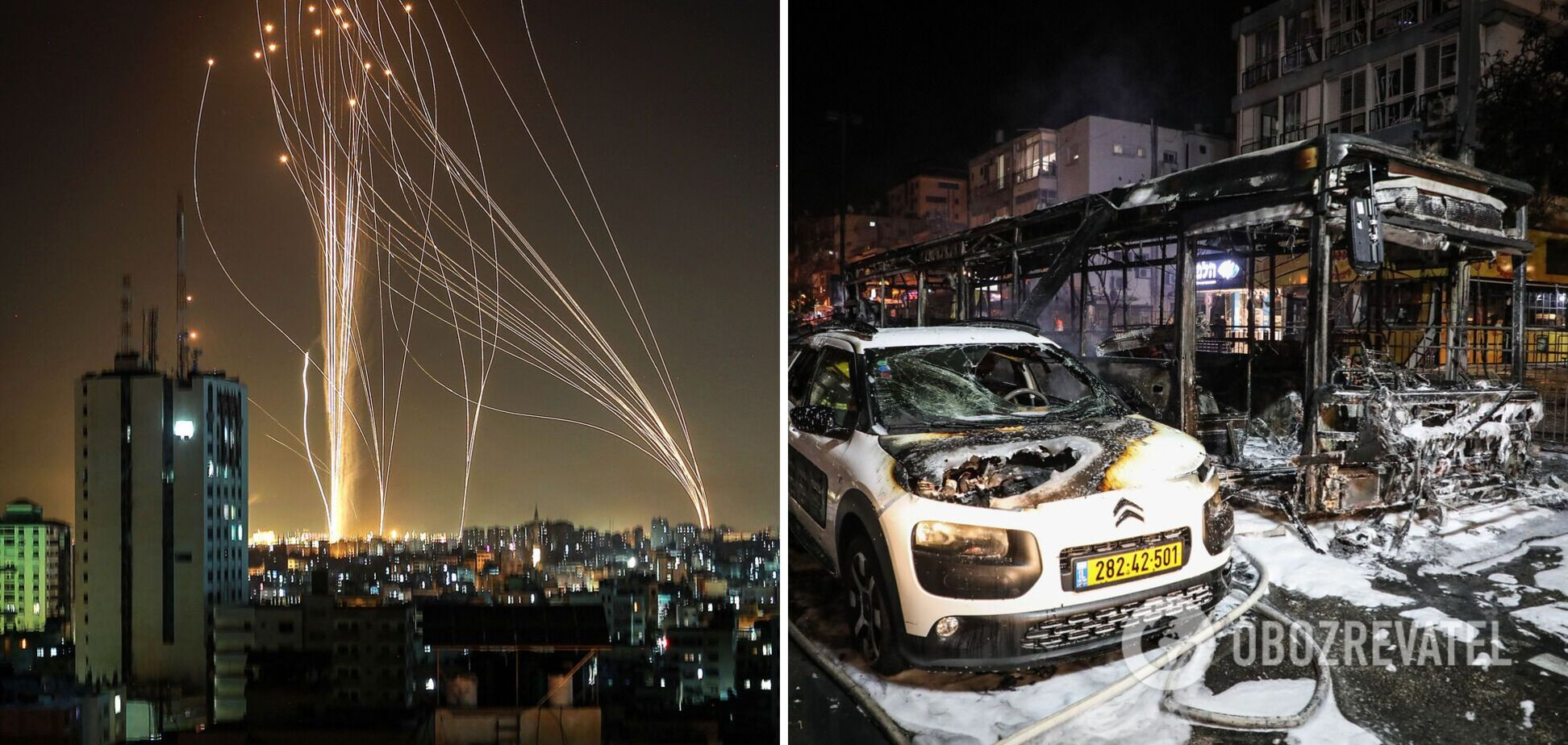 Обстріл Ізраїлю