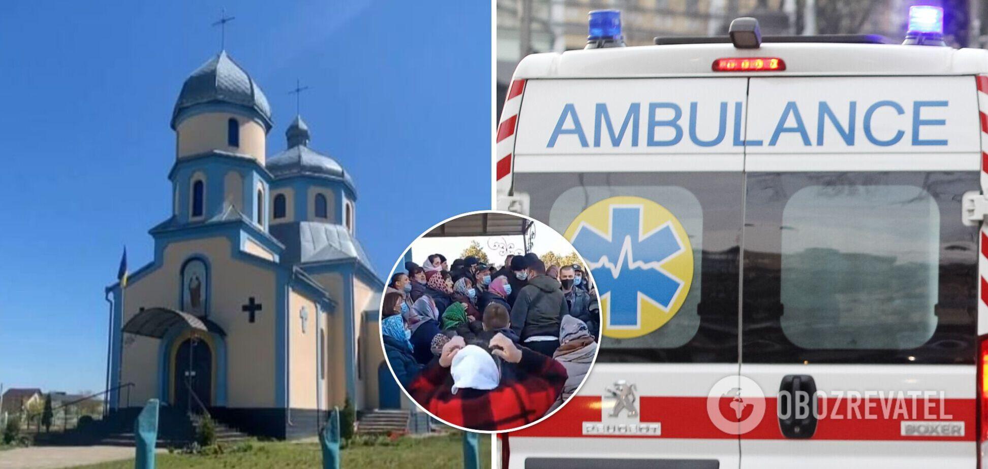 На Рівненщині віряни МП і ПЦУ побилися за церкву: постраждали понад 20 осіб