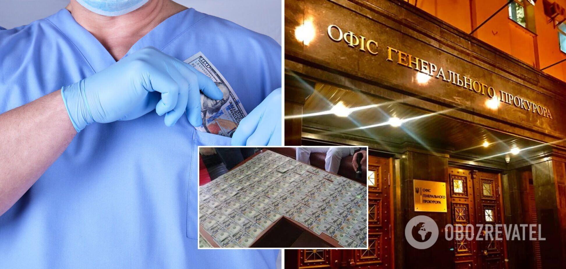 В Одесі лікаря-чиновника спіймали на $11 тис. хабара: вимагав гроші за операцію на серці
