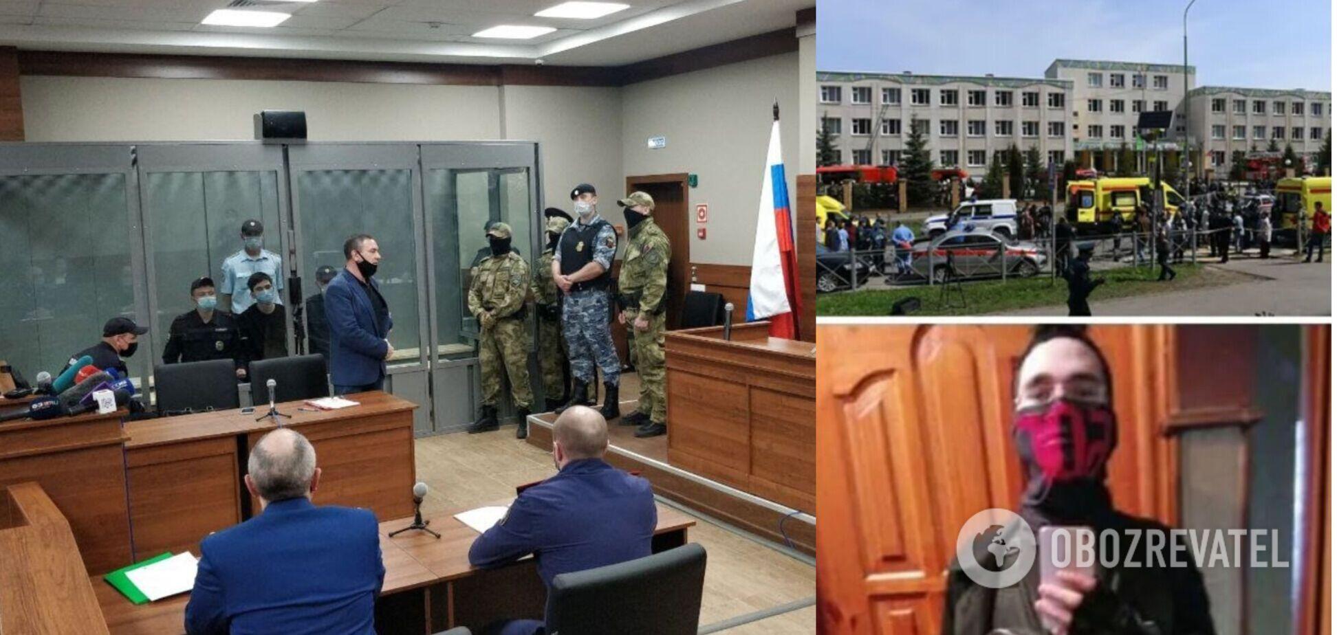 Стрілка, який убив 9 людей у Казані, взяли під варту. Відео