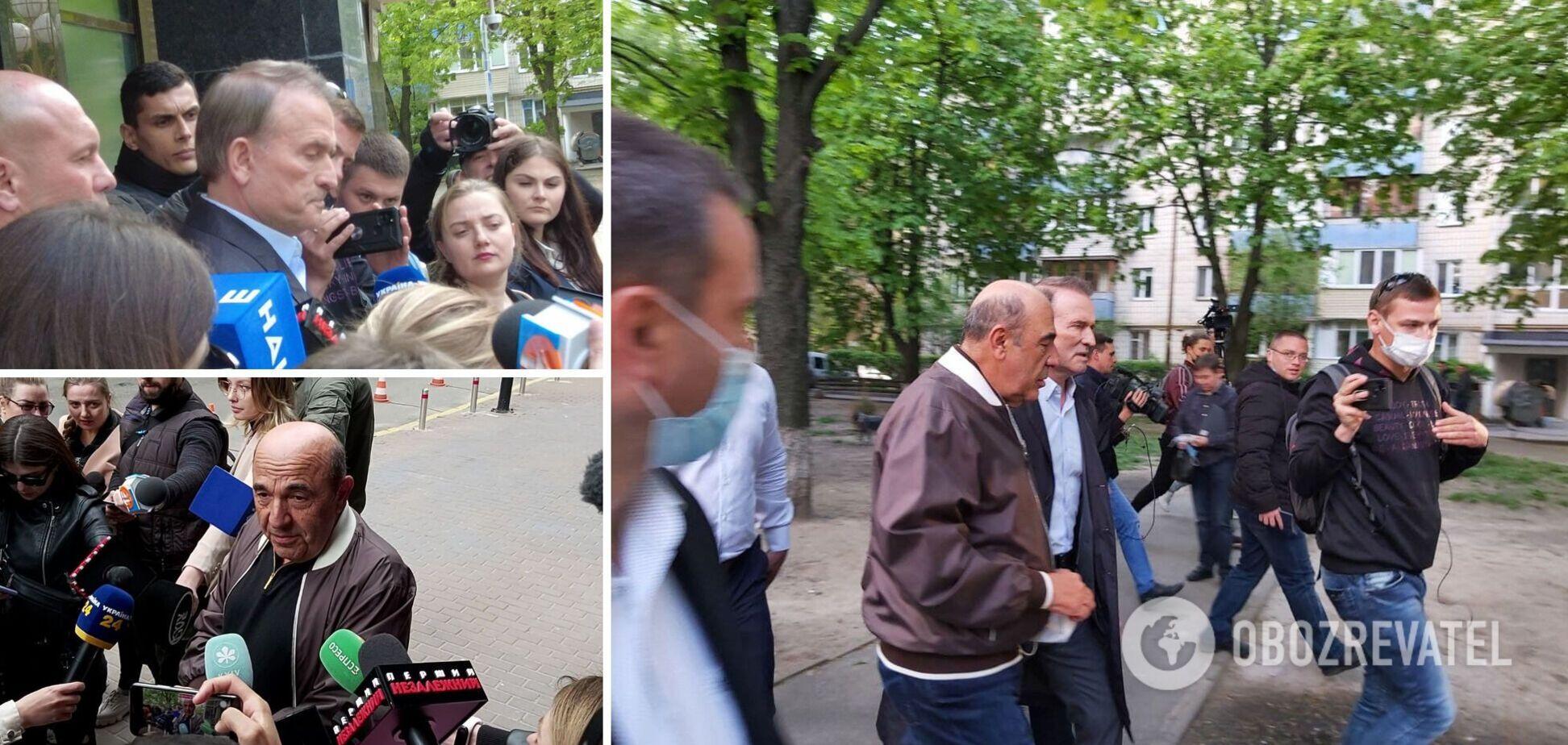 Медведчук побував в Офісі генпрокурора й заявив, що готовий до арешту. Фото, відео та подробиці