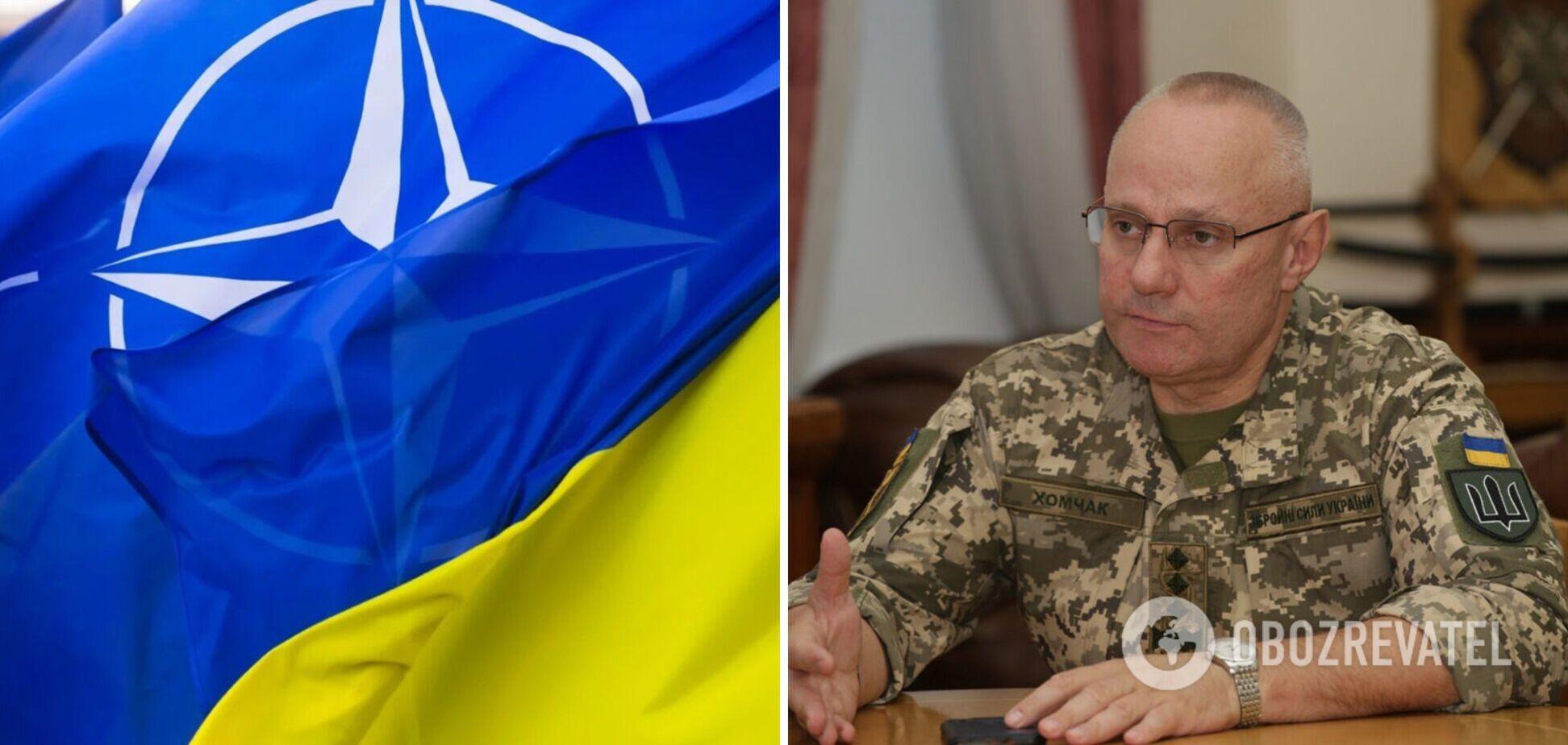 Хомчак заявив, що Україна є лідером серед претендентів на членство в НАТО