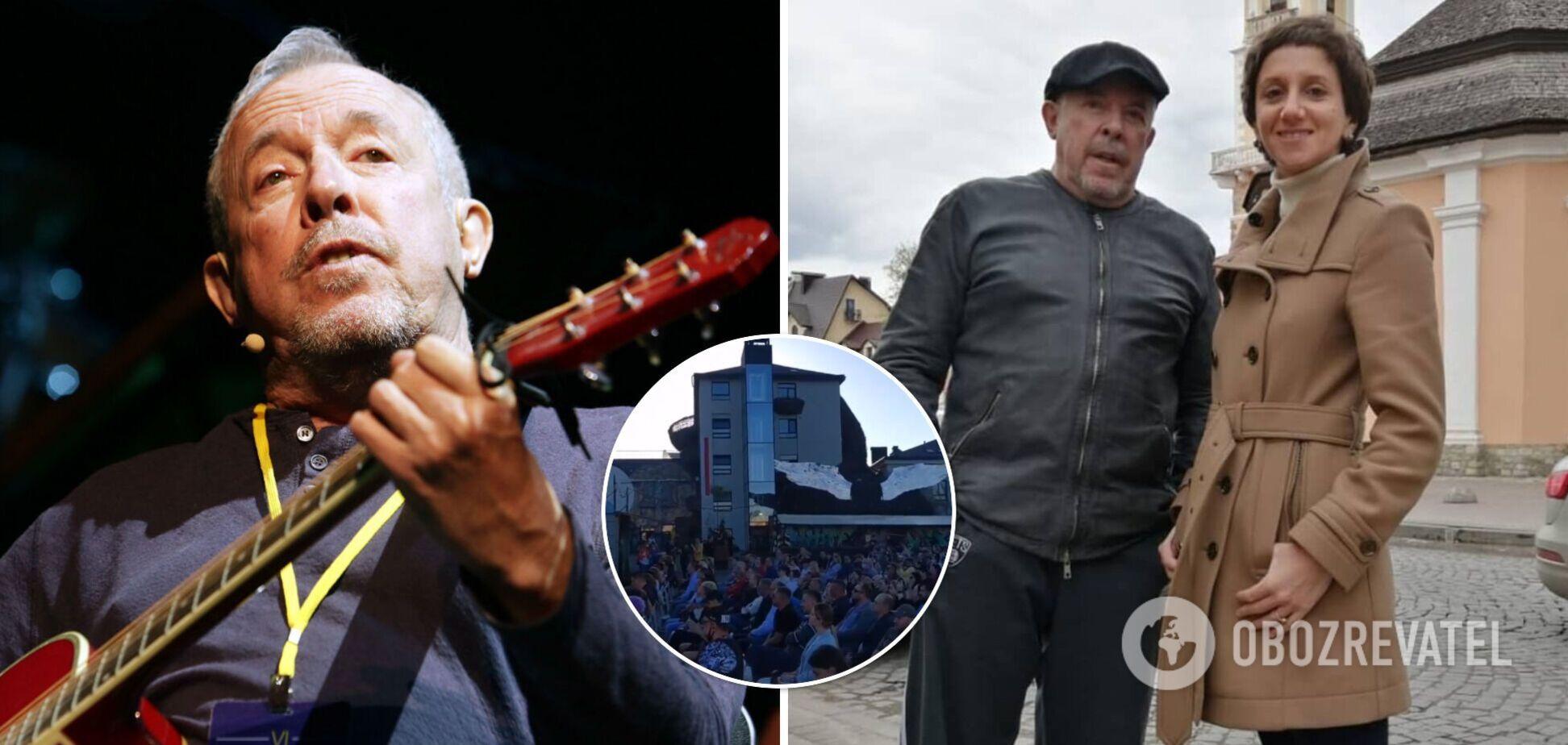 Макаревич виступив у Львові, зібравши аншлаг на концерті. Фото та відео