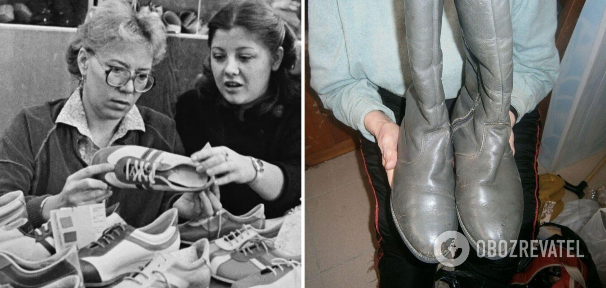 Какую обувь носили в СССР: опубликованы фото и видео