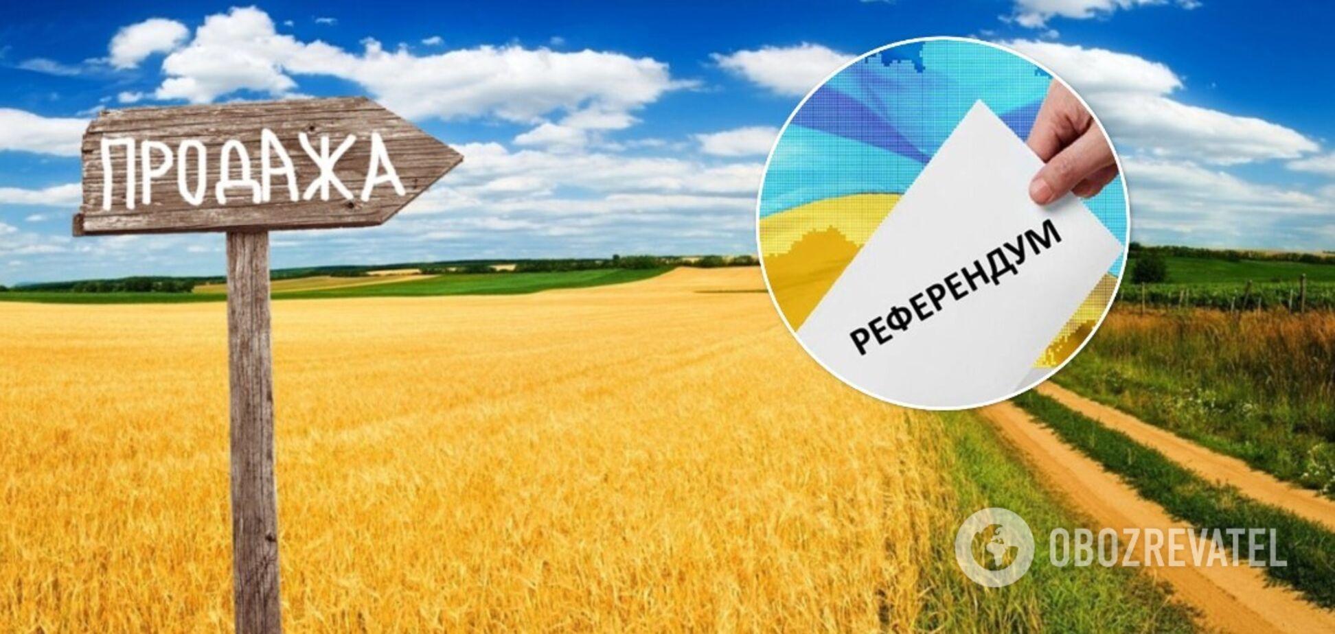 Більшість українців вважає, що питання продажу землі іноземцям мусить вирішуватися на всеукраїнському референдумі