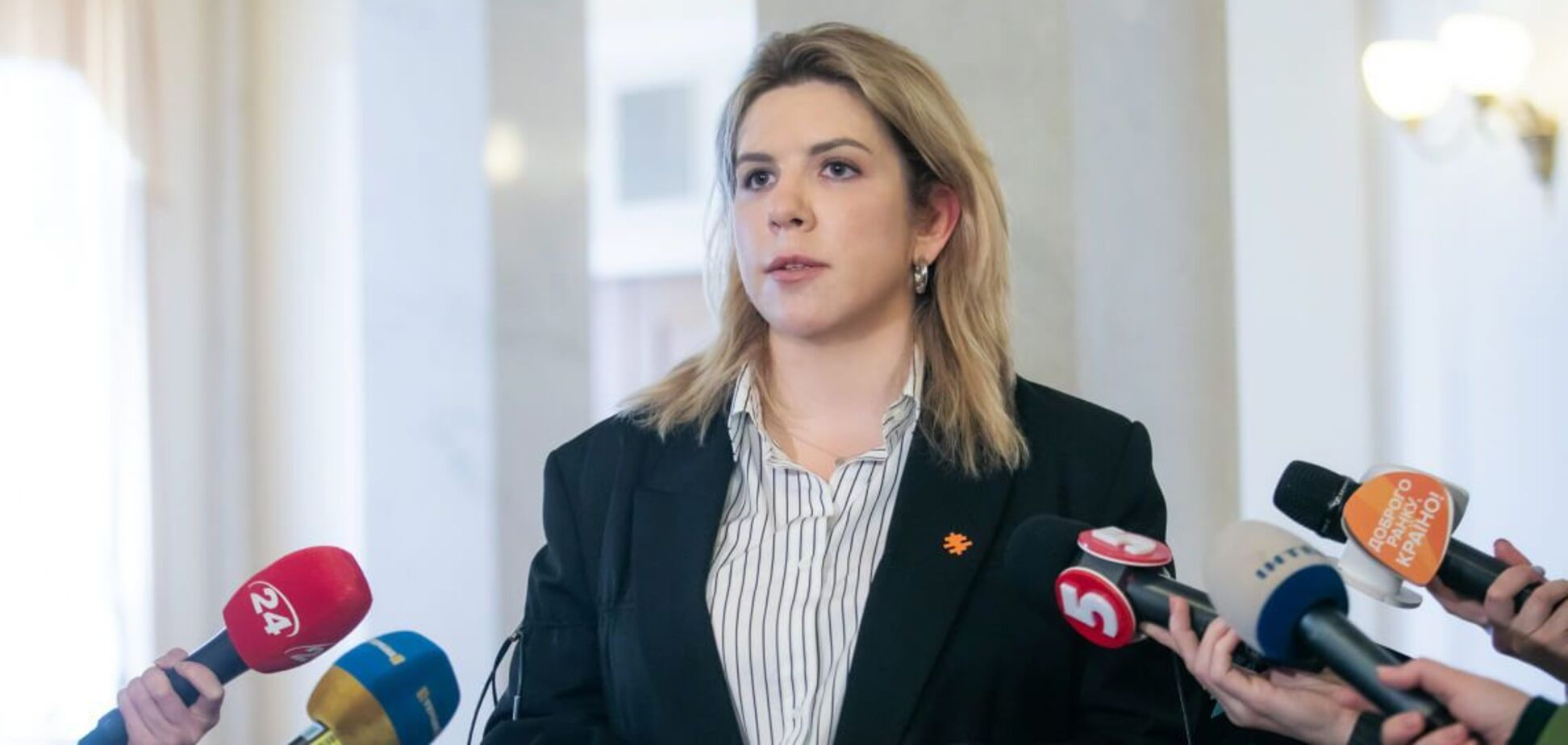 Кіра Рудик заявила, що в Україні мають відбутись інституційні зміни законодавства