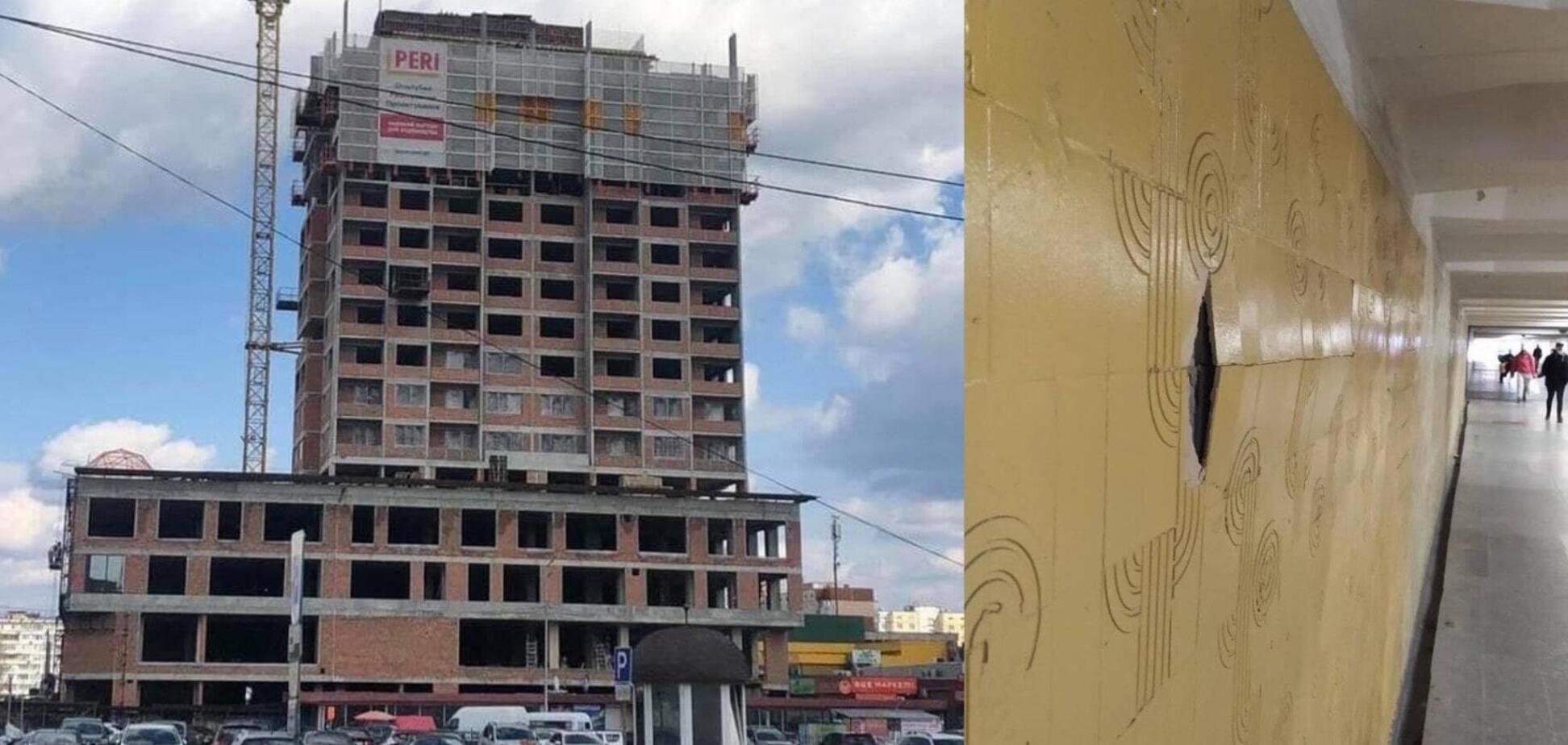 Застройщик ЖК Obolon Plaza пообещал реконструировать подземный переход