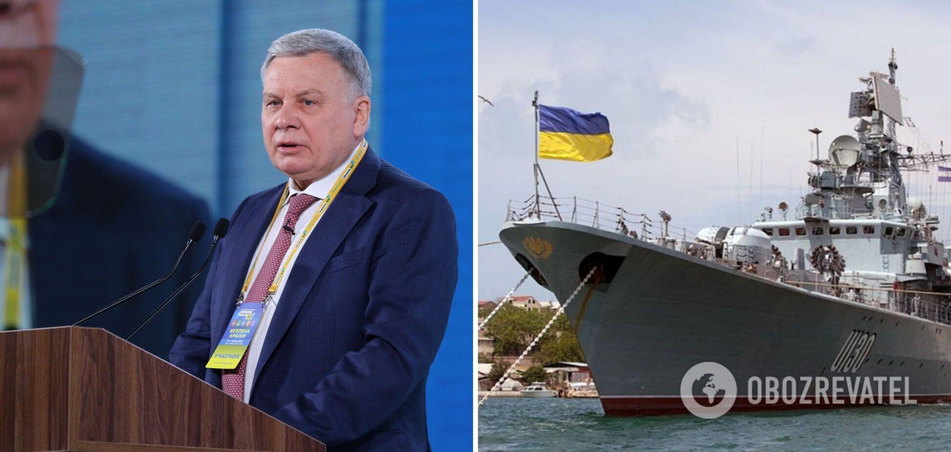 У Міноборони України озвучили терміни відновлення ВМС
