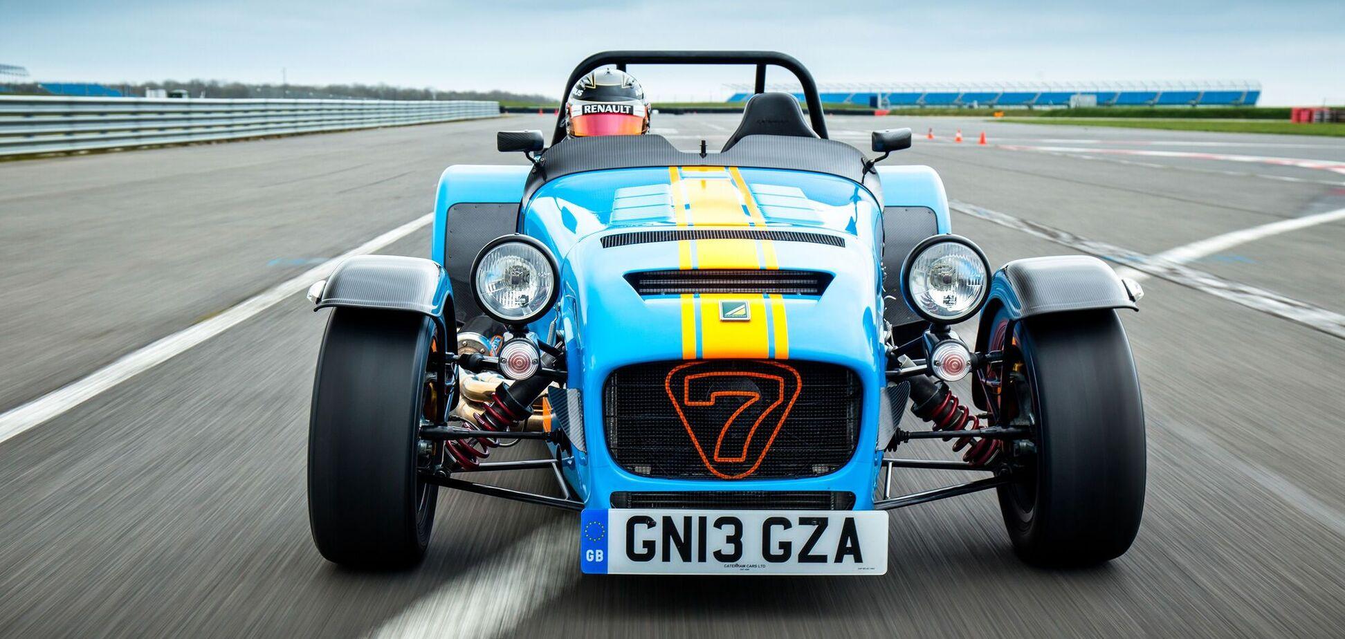 Caterham почне випуск електричної версії моделі Seven
