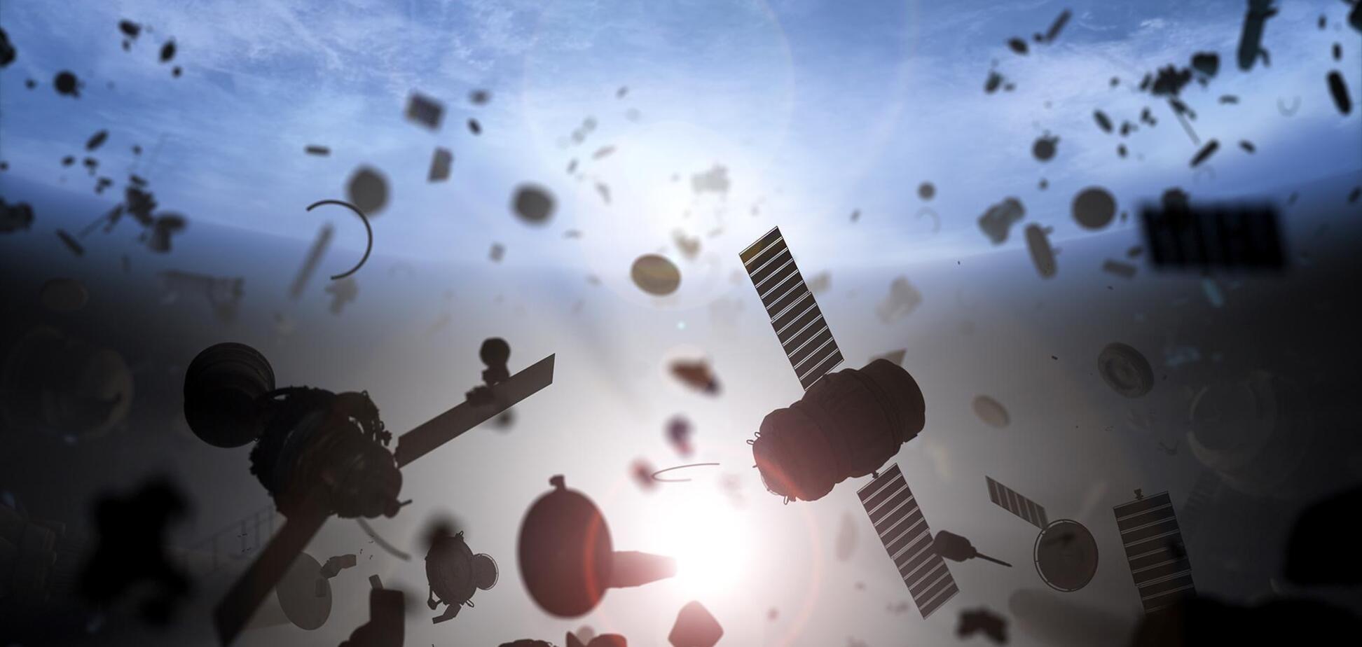 К 2100 году количество космического мусора может увеличиться в 50 раз