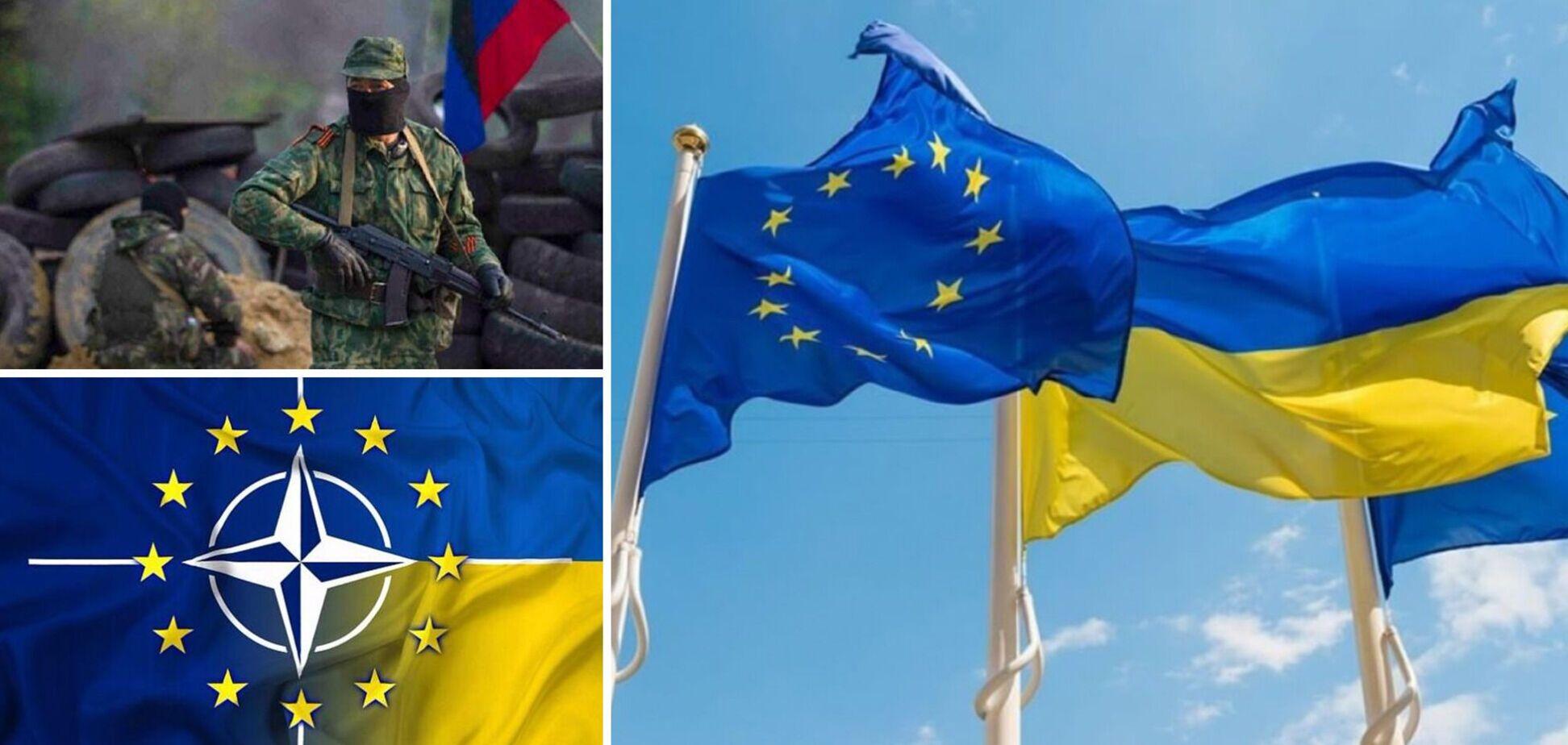 В ЕС обсуждали вступление Украины в НАТО и Донбасс