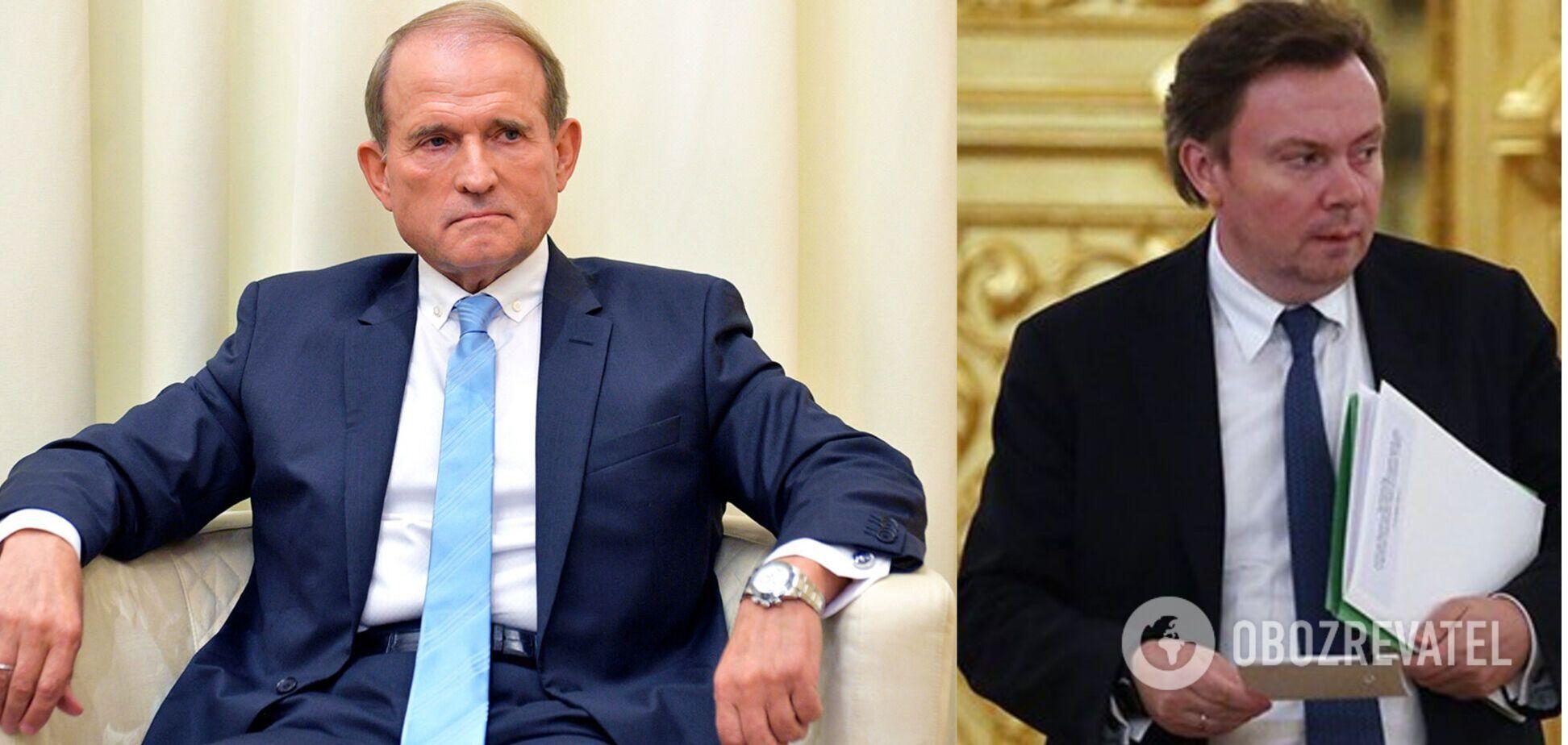 Опубликованоновое аудио разговора Медведчука с чиновником РФ о 'передаче информации' и санкциях. Эксклюзив
