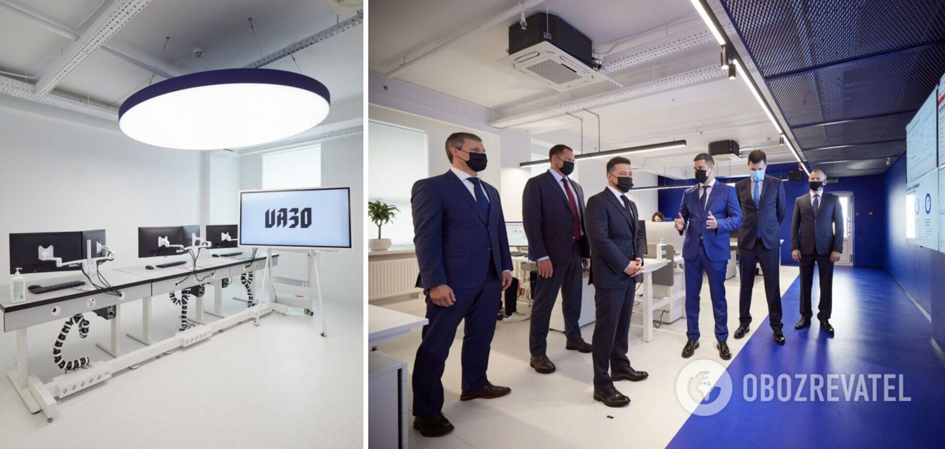 Зеленський– про відкриття 'Кіберцентру UA30':Україна змінюється не просто на словах