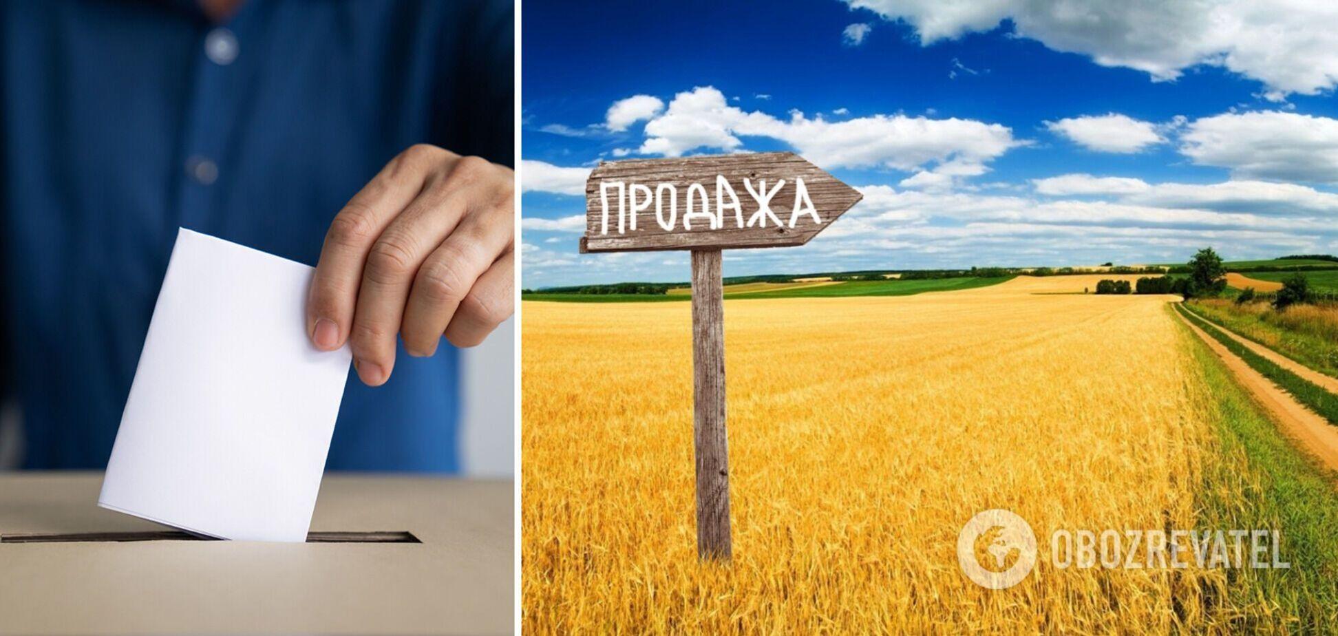 Більшість українців виступає проти продажу землі та за референдум, – соціолог