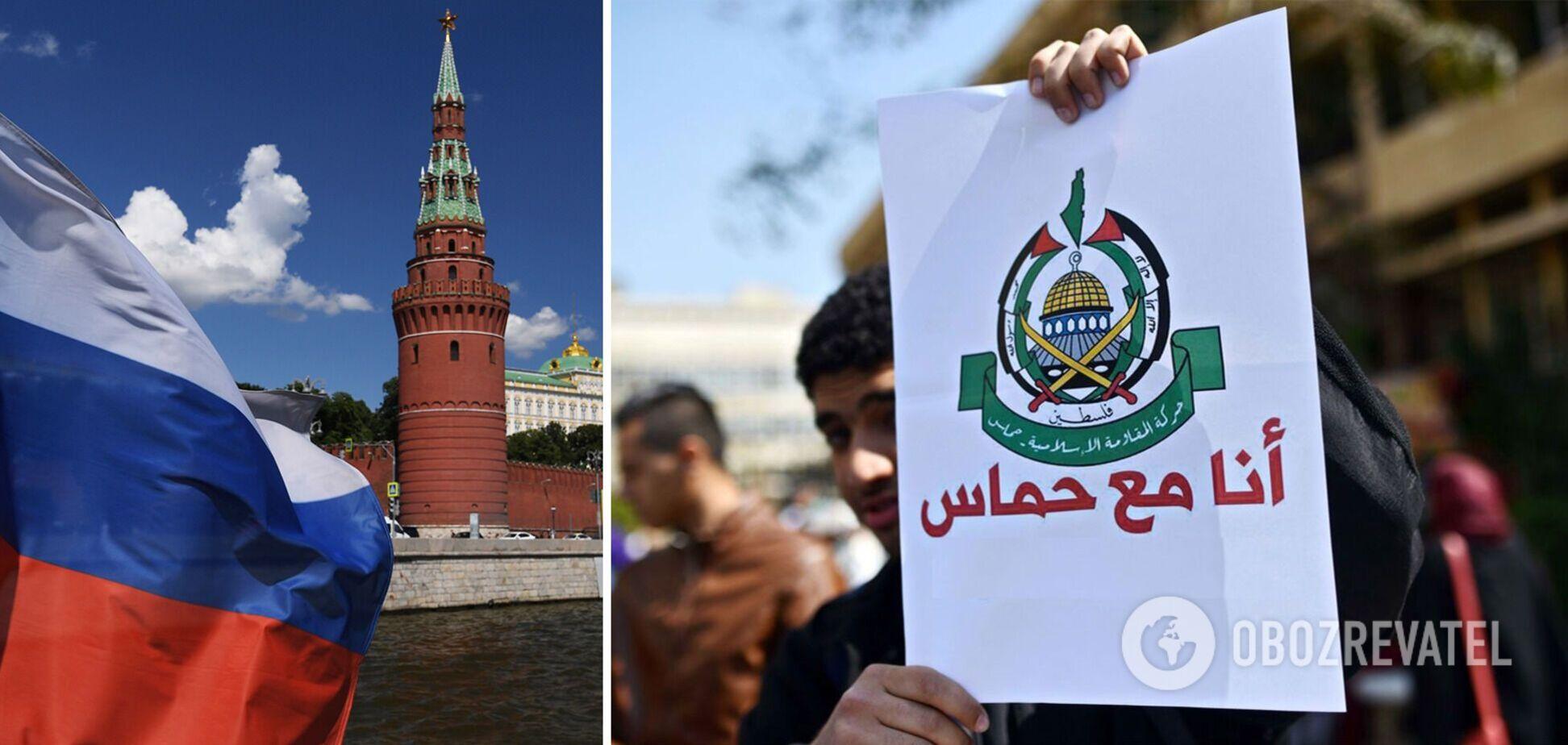 Війна Ізраїлю та Палестини: Росія відкрито підтримала ХАМАС