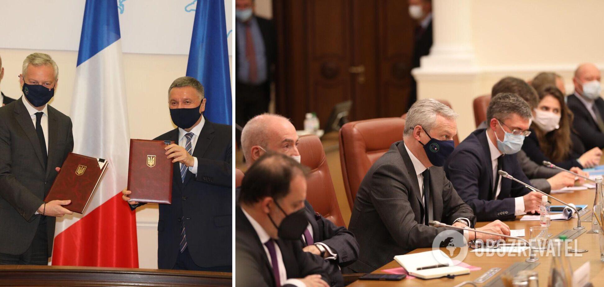 Украина и Франция подписали четыре соглашения на более €1,3 млрд: у Авакова рассказали подробности