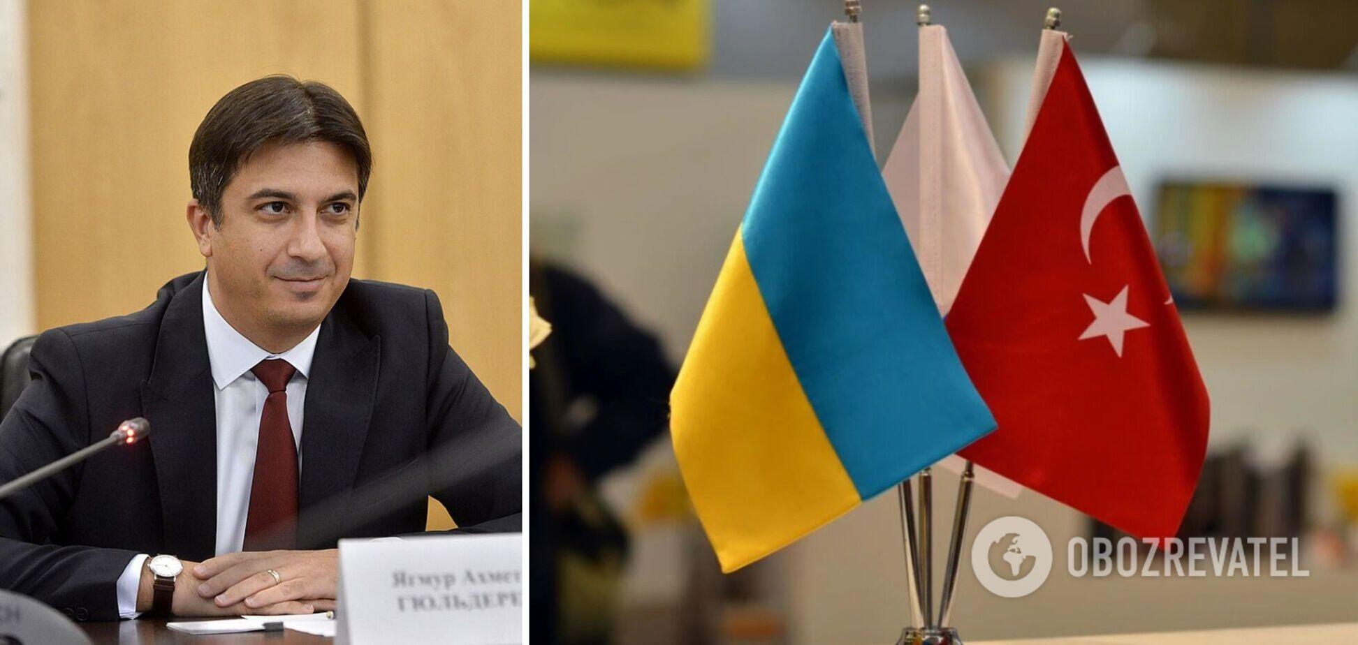 Україна і Туреччина планують разом розробляти військове обладнання – посол