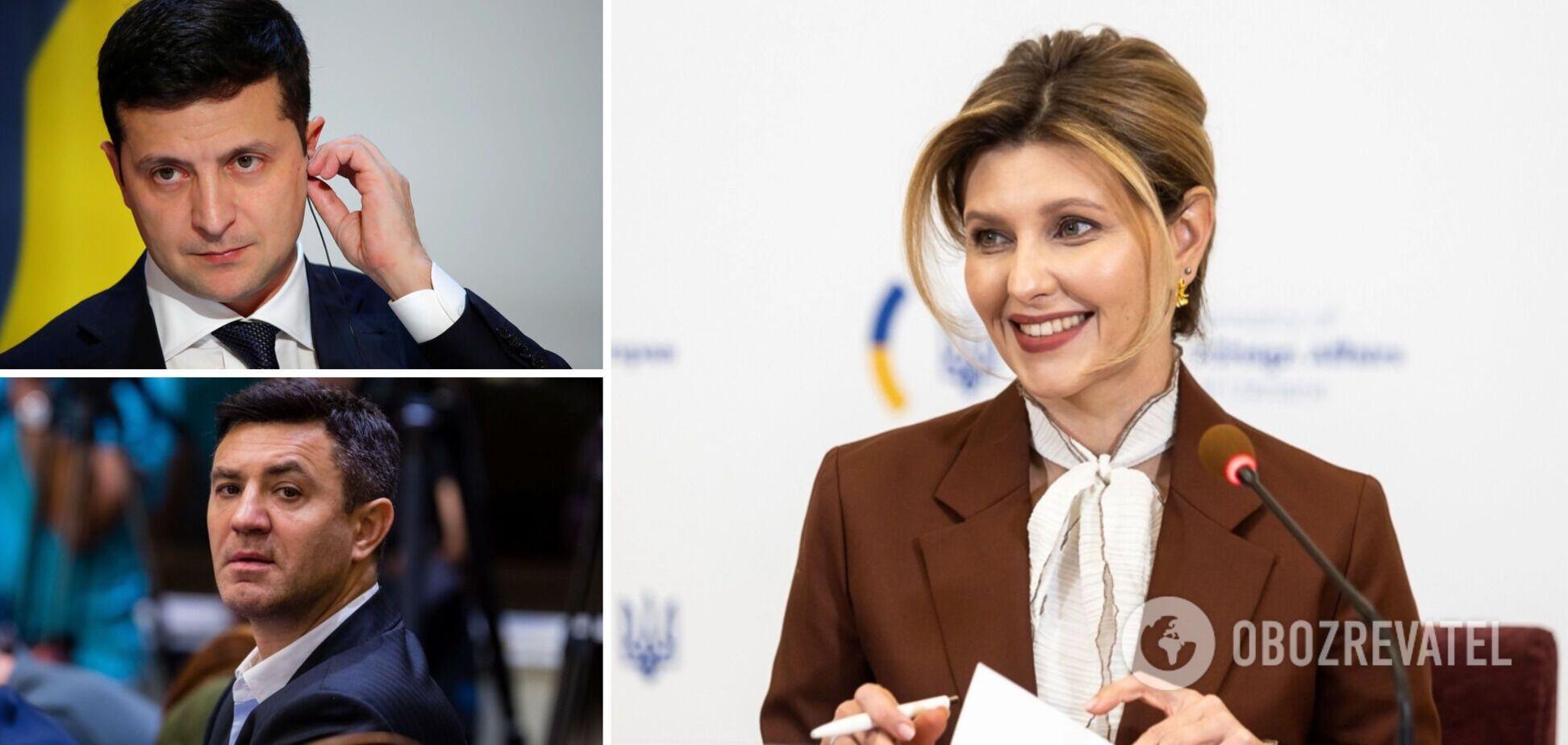 Зеленська – про скандал із 'Велюром' Тищенка: це не справа президента