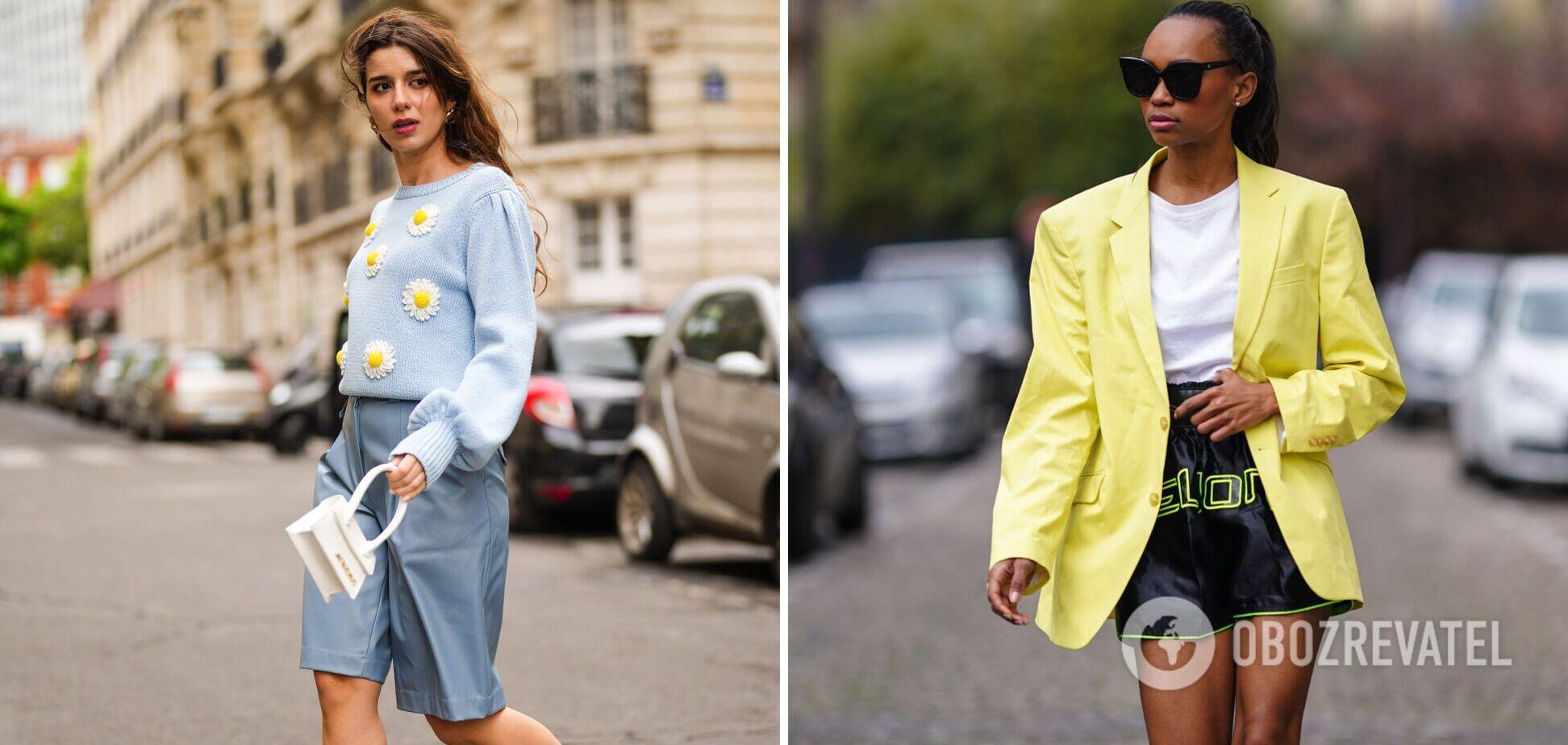 Модні шорти на літо 2021