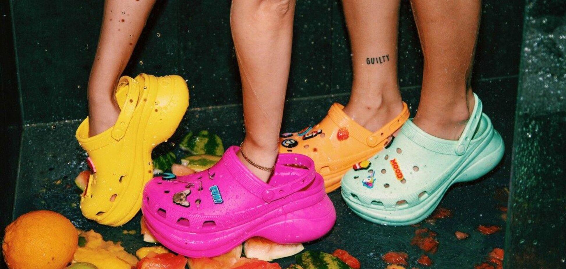 Крокси – наймодніше взуття літа 2021