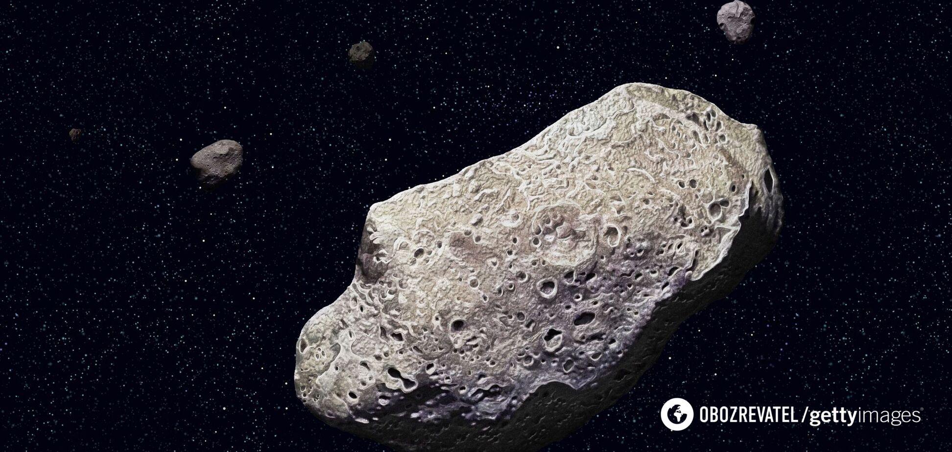 До Землі на високій швидкості летить великий астероїд
