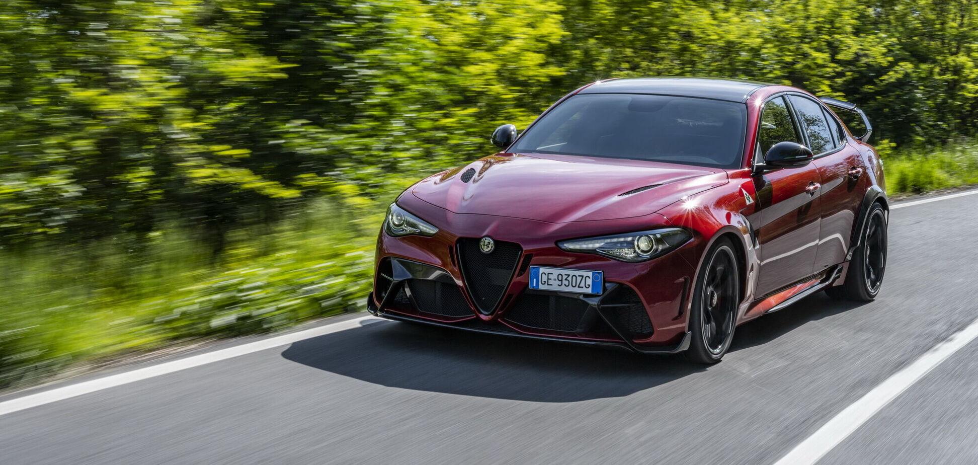 Alfa Romeo презентувала нові спортседани Giulia GTA та GTAm