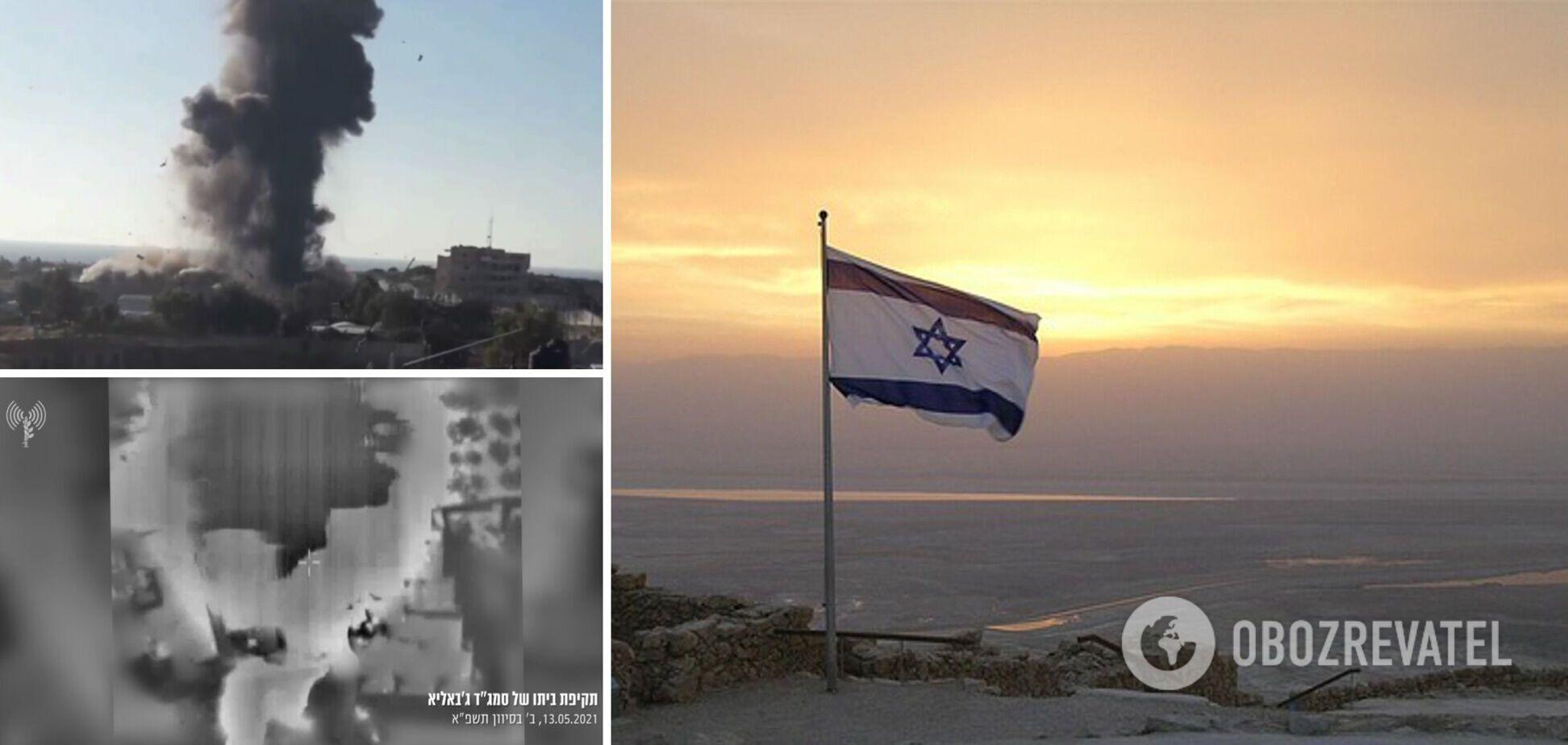 Удари Ізраїлю у відповідь