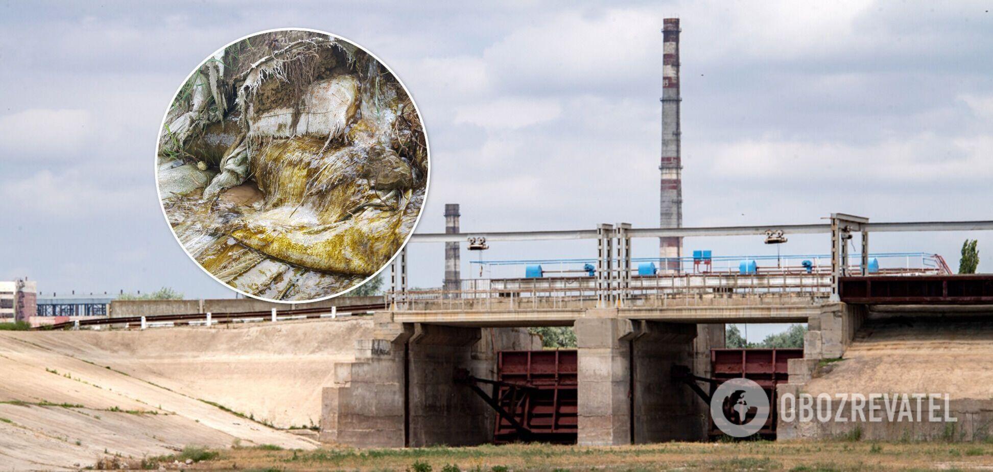 Перекритий Північно-Кримський канал