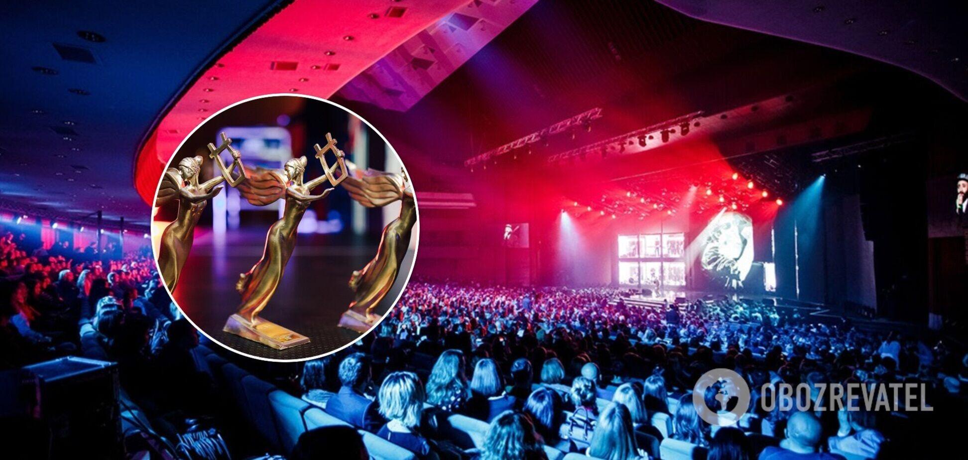 Музыкальная премия YUNA-2021 в Киеве: фото и видео