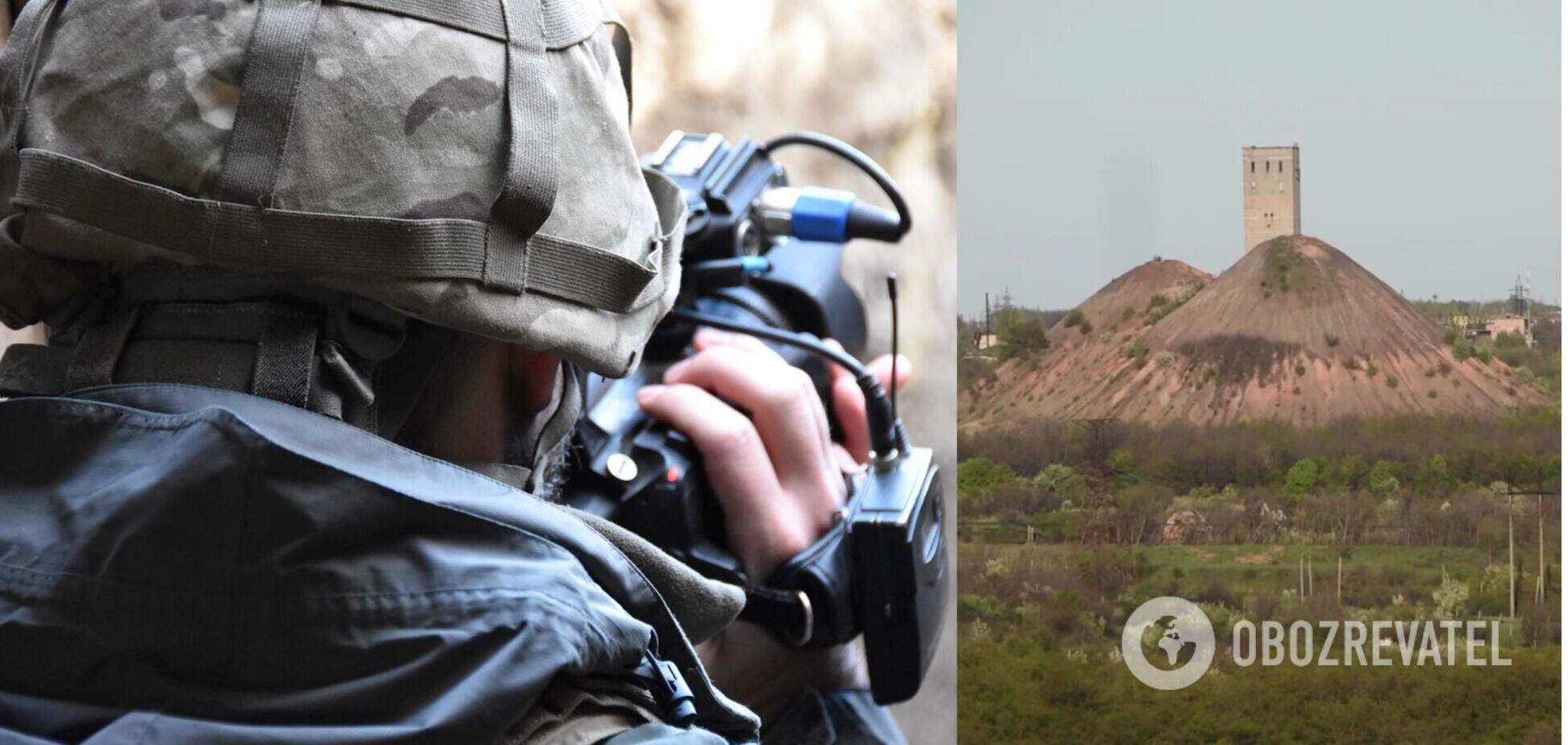 Обстріл в зоні Операції Об'єднаних сил